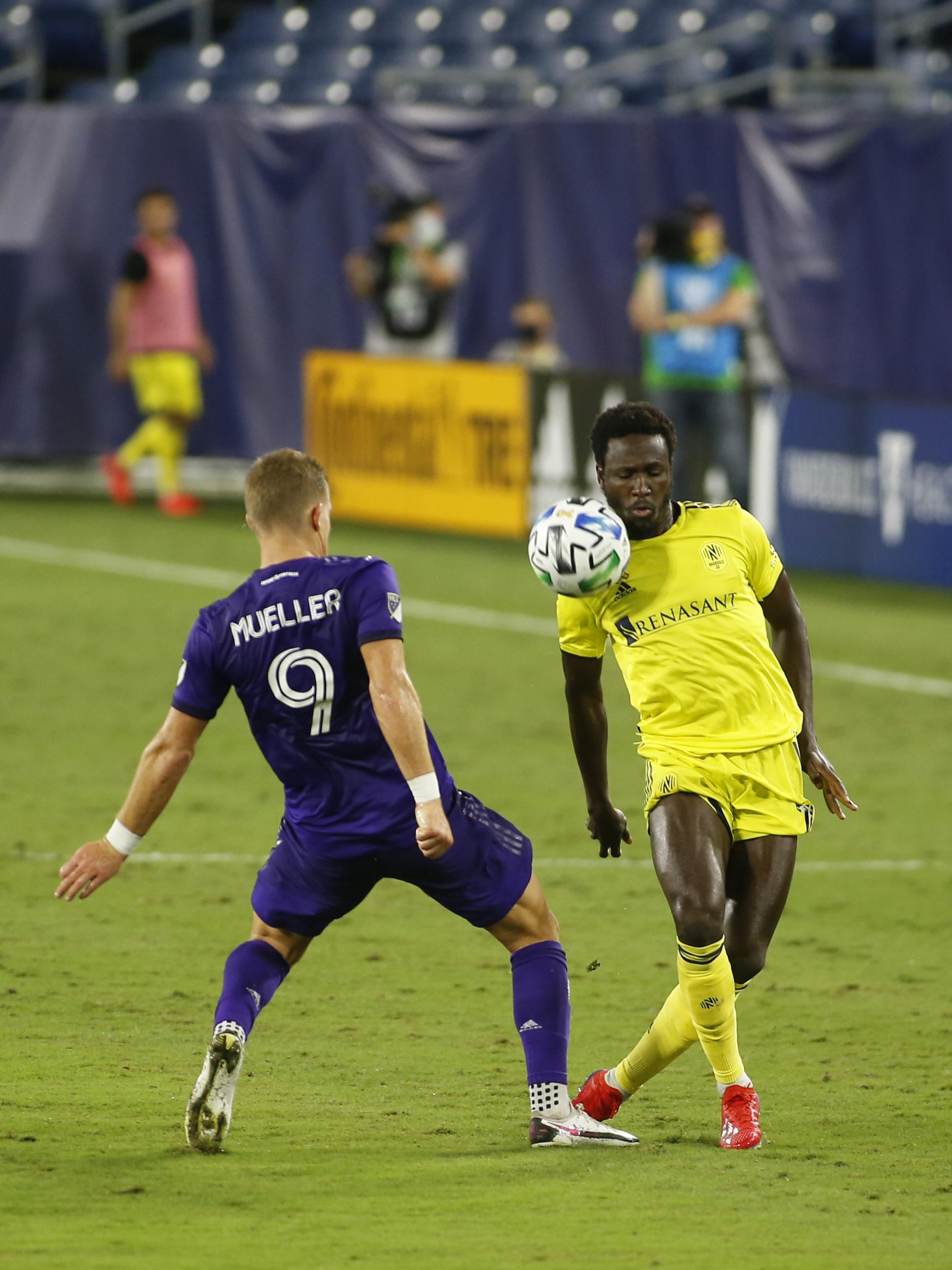 SOCCER: SEP 02 MLS Orlando City SC at Nashville SC