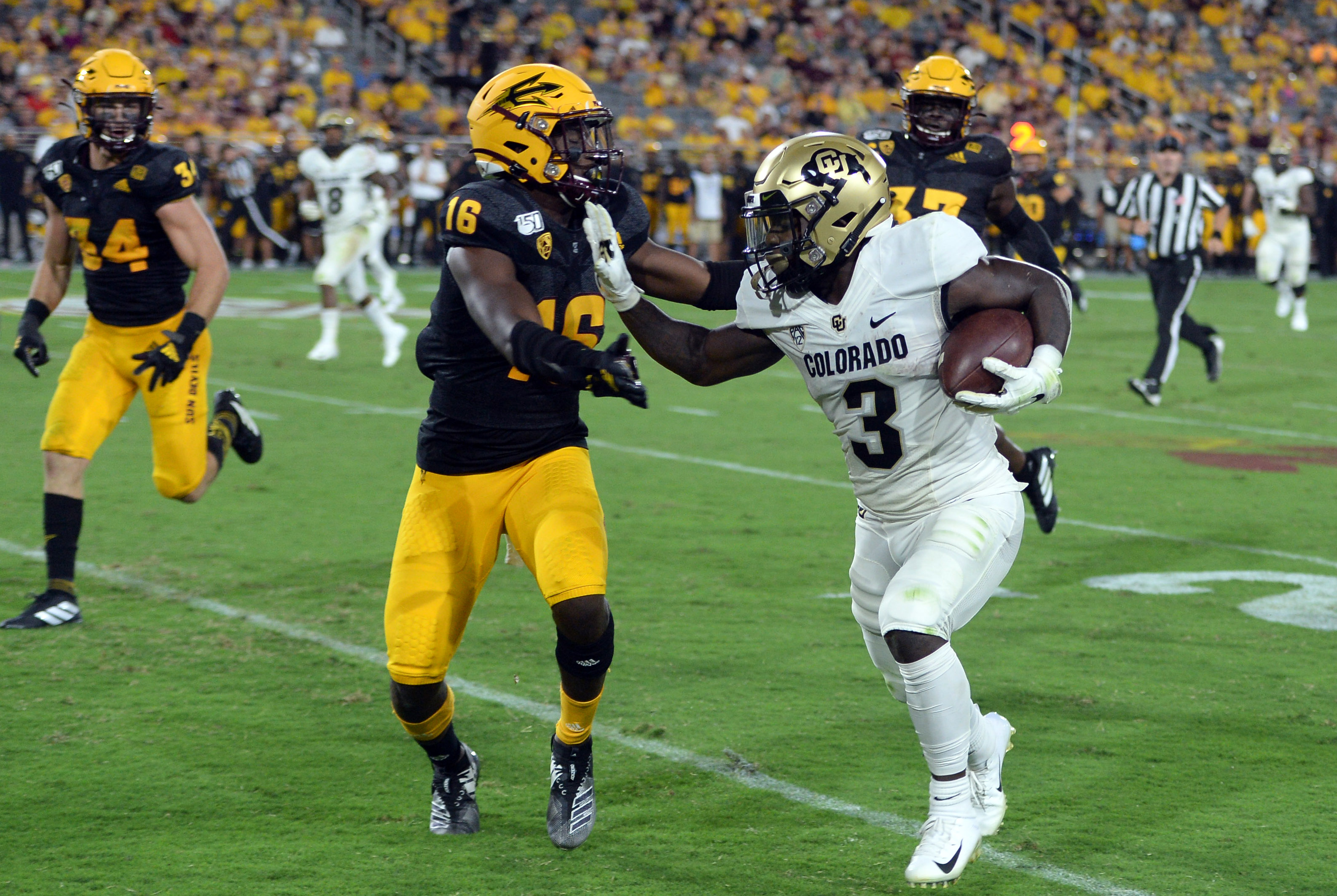 NCAA Football: Colorado at Arizona State