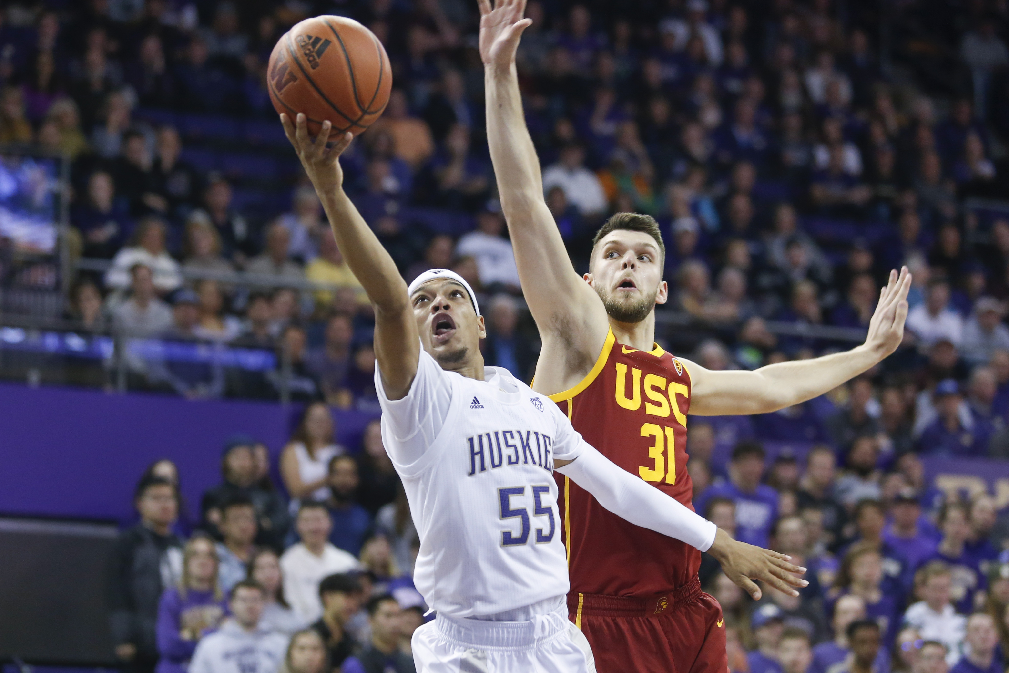 NCAA Basketball: Southern California at Washington