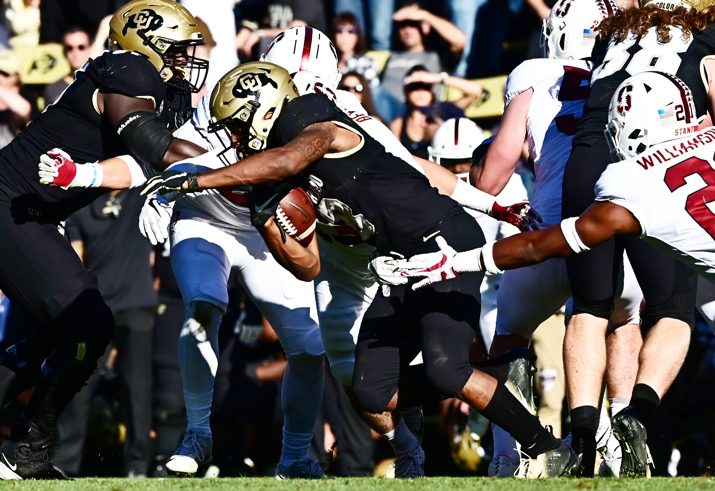 NCAA Football: Stanford at Colorado