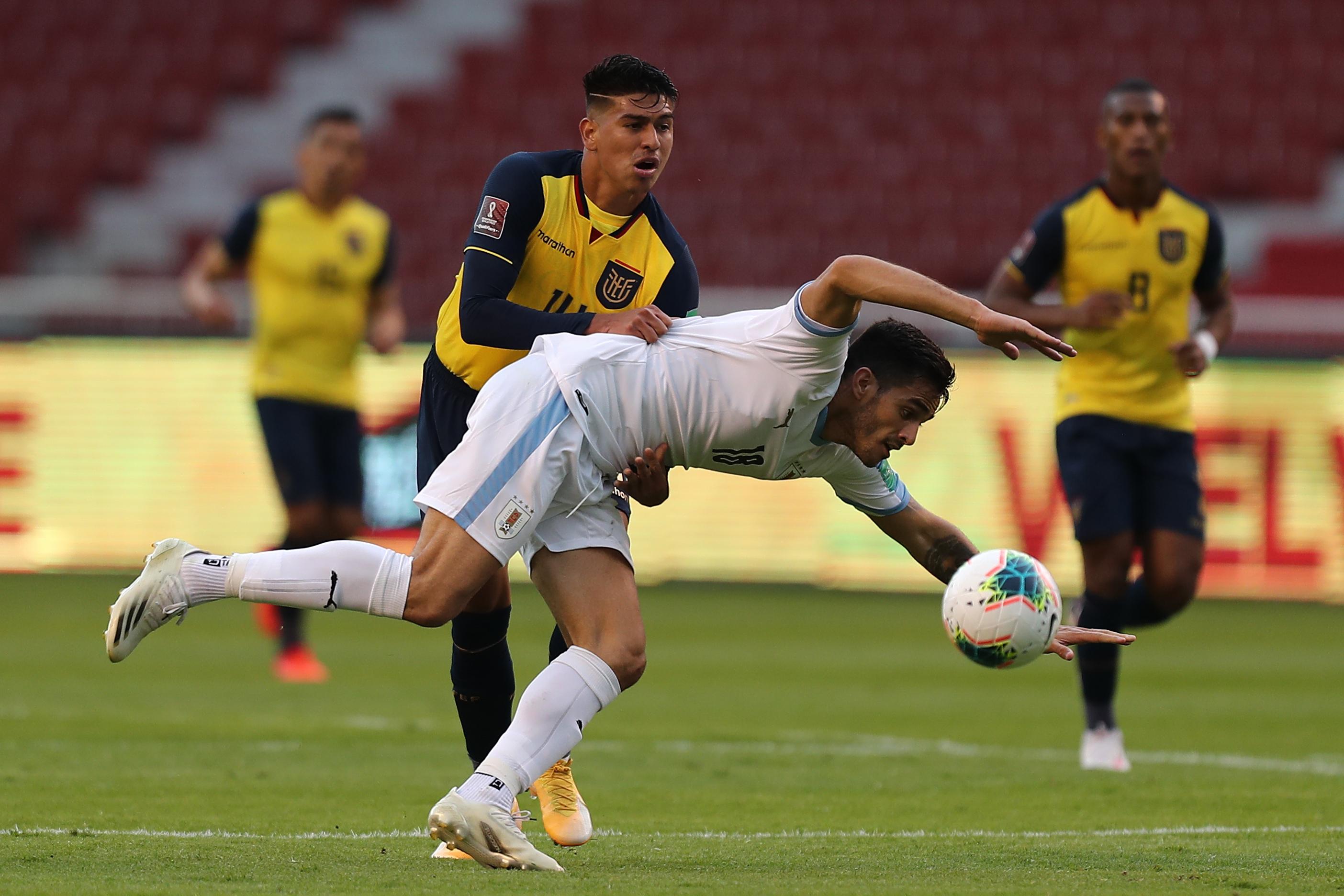 厄瓜多尔诉乌拉圭 - 南美南美的卡塔尔限定者2022