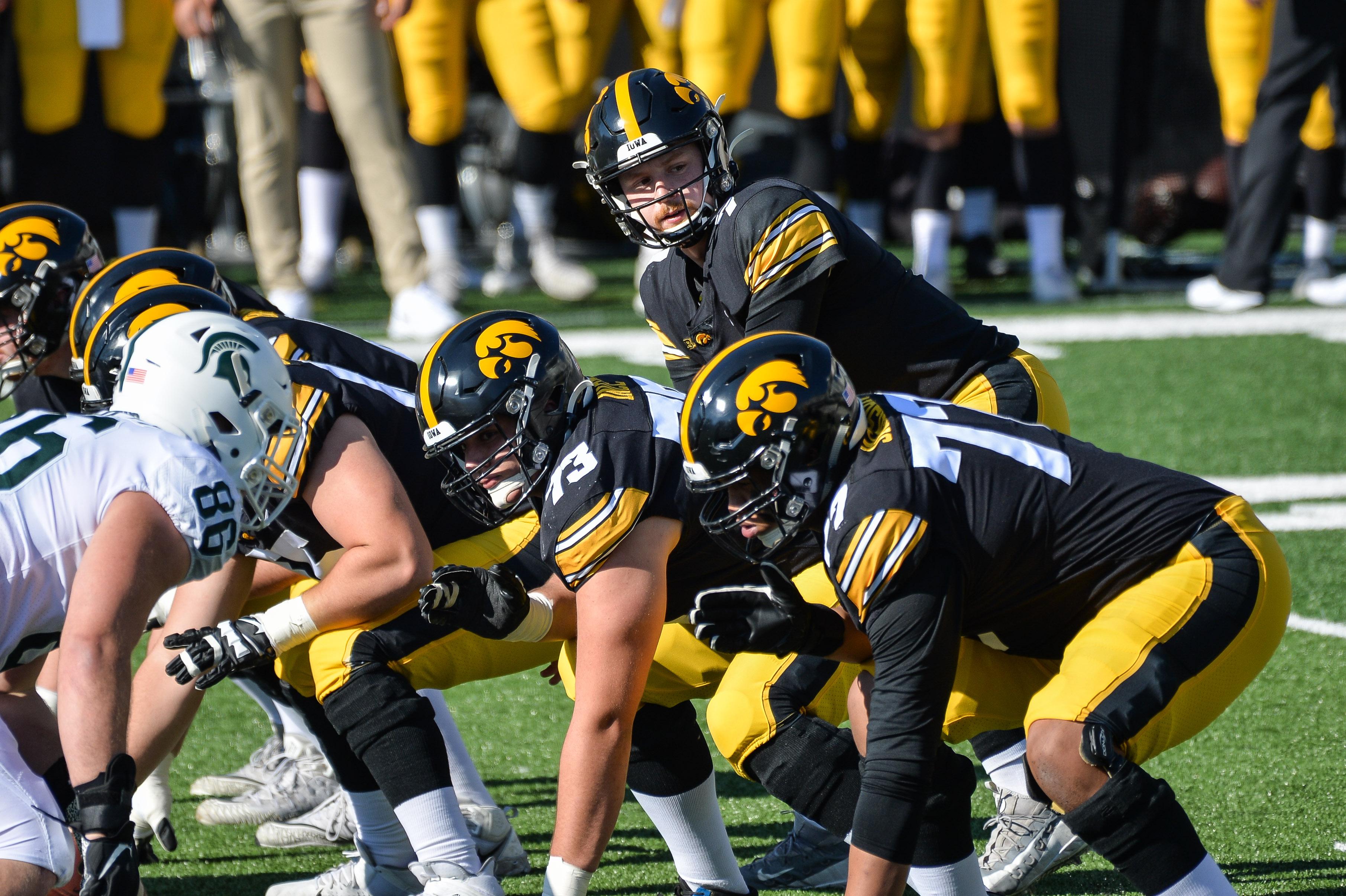 NCAA Football: Michigan State at Iowa