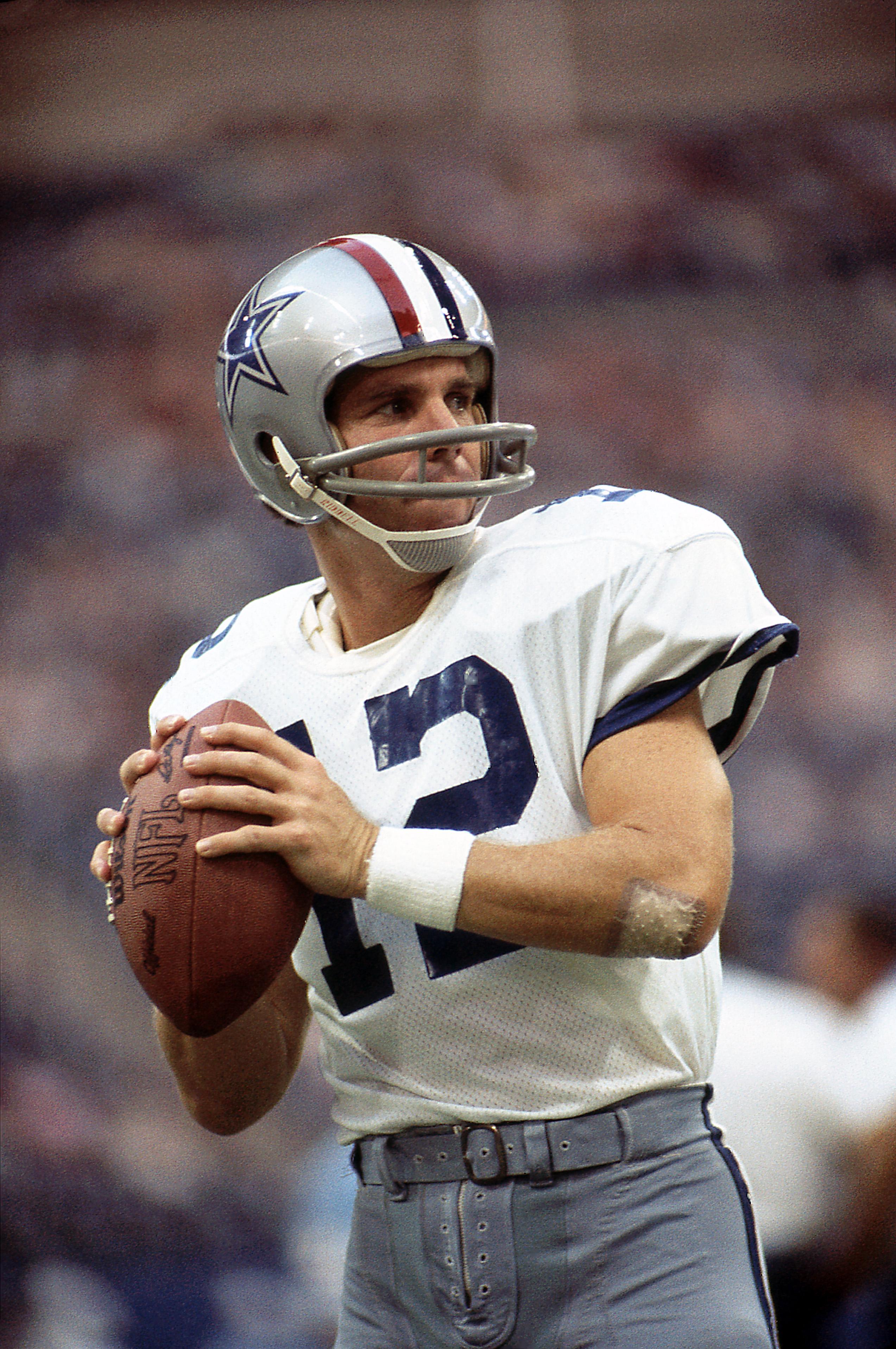 Roger Staubach, Dallas Cowboys Gameplay On Monday Night Football