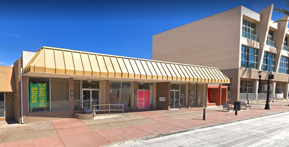 The future home of Chinitas, right in the middle of Henderson's Water street District.