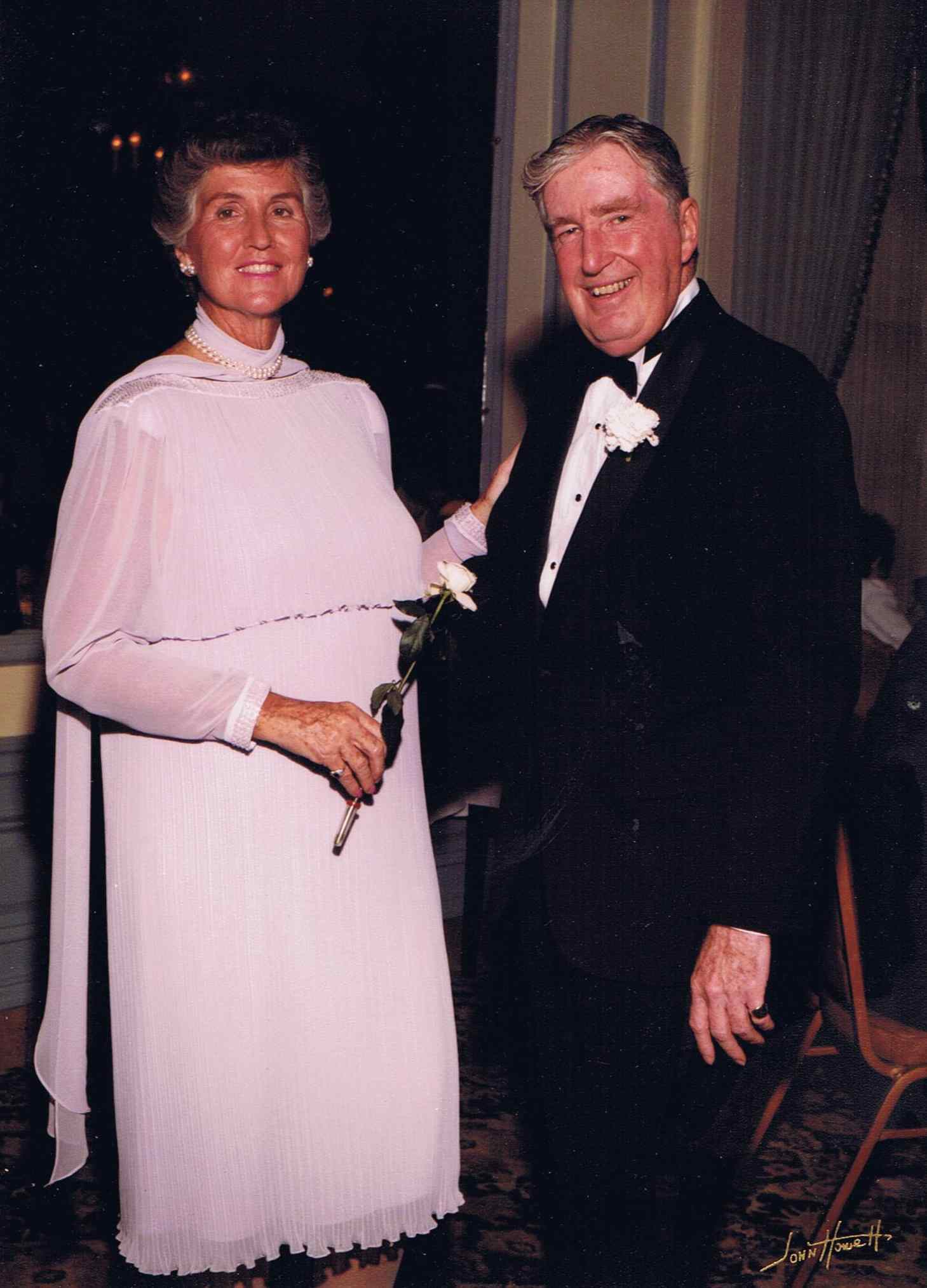 Julia and John Dowdle in 1984.