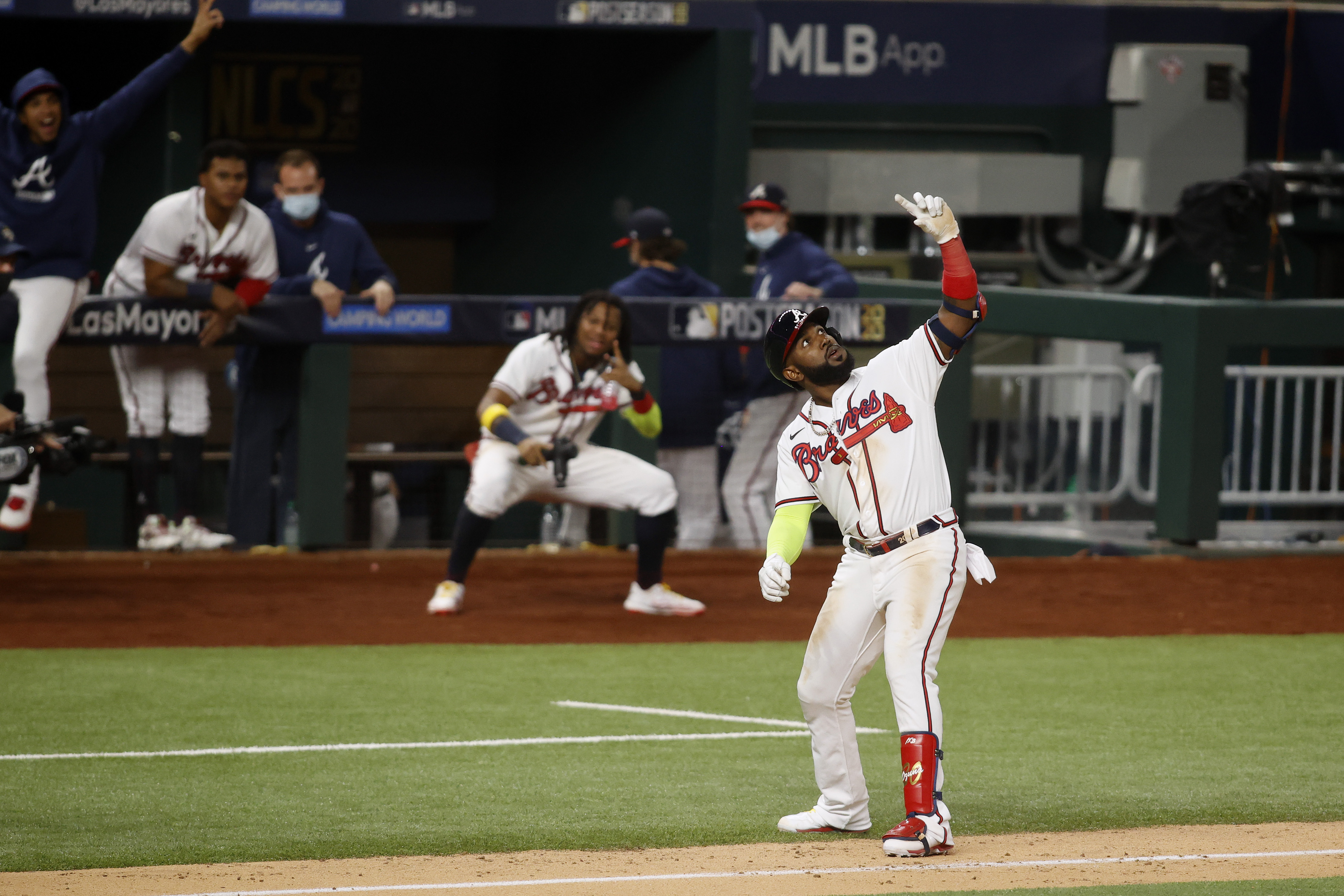 MLB: NLCS-Los Angeles Dodgers at Atlanta Braves