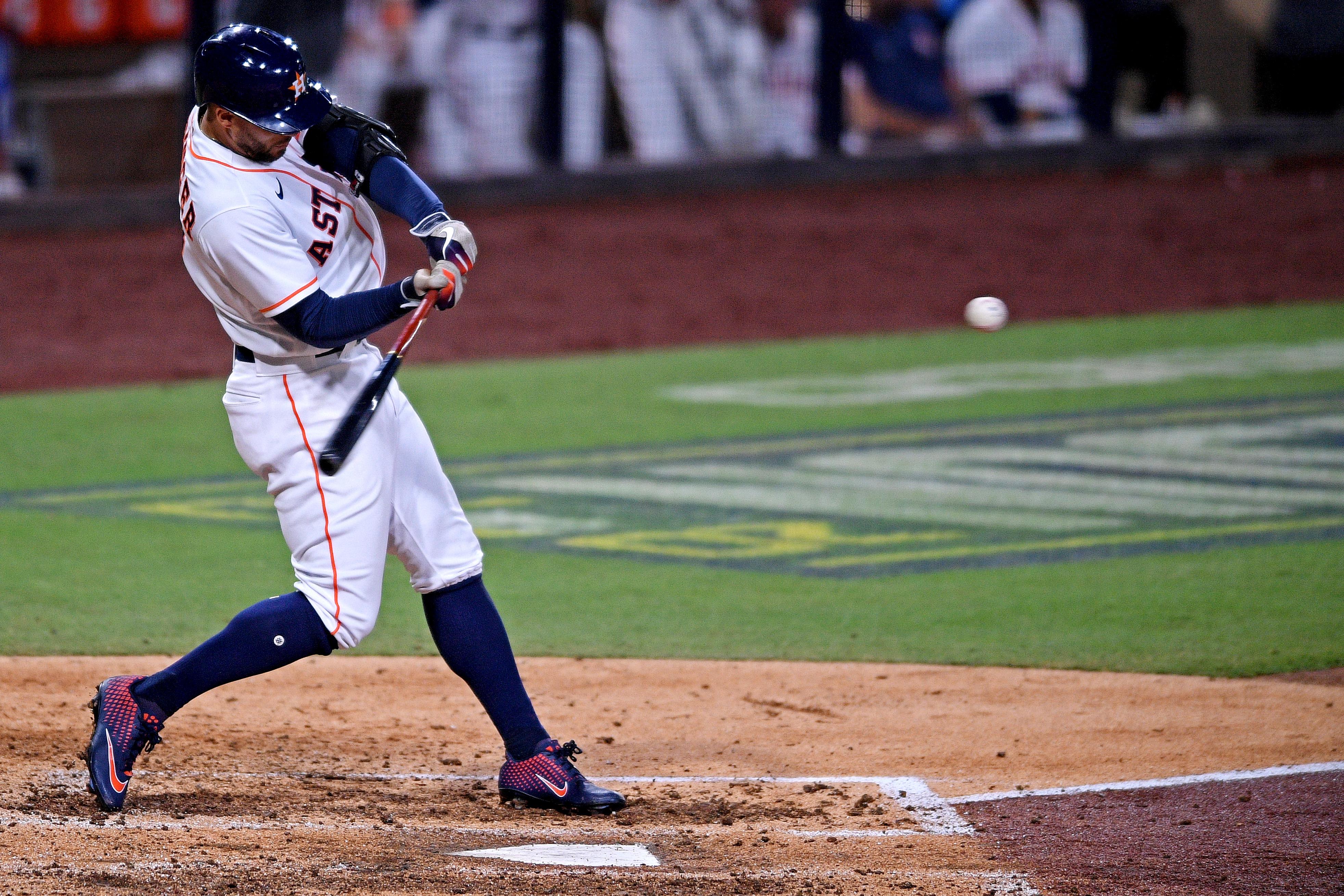 MLB: ALCS-Tampa Bay Rays at Houston Astros