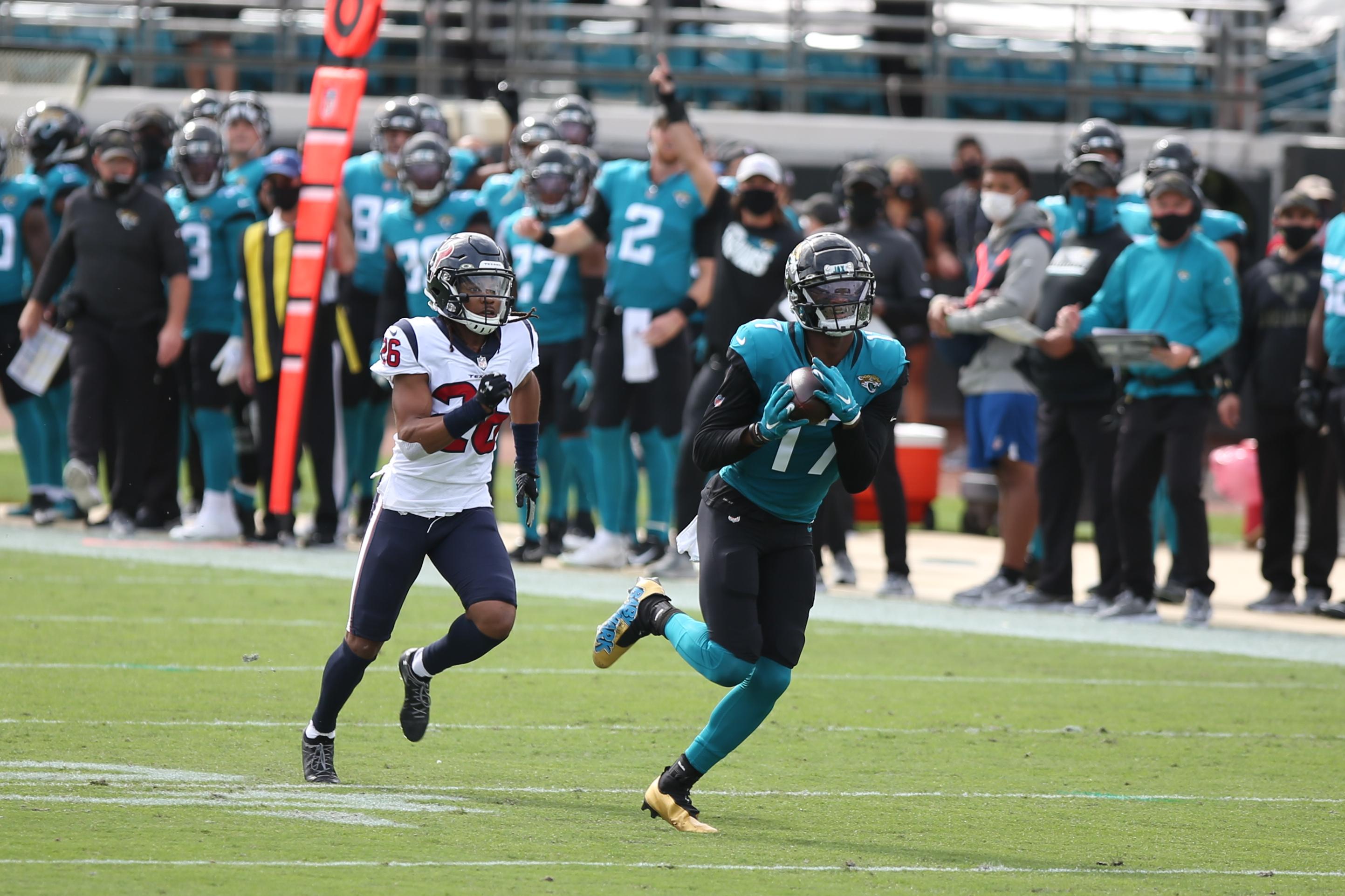 NFL: NOV 08 Texans at Jaguars