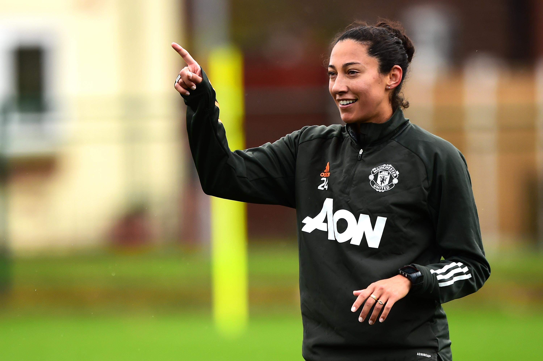 Manchester United Women Training Session