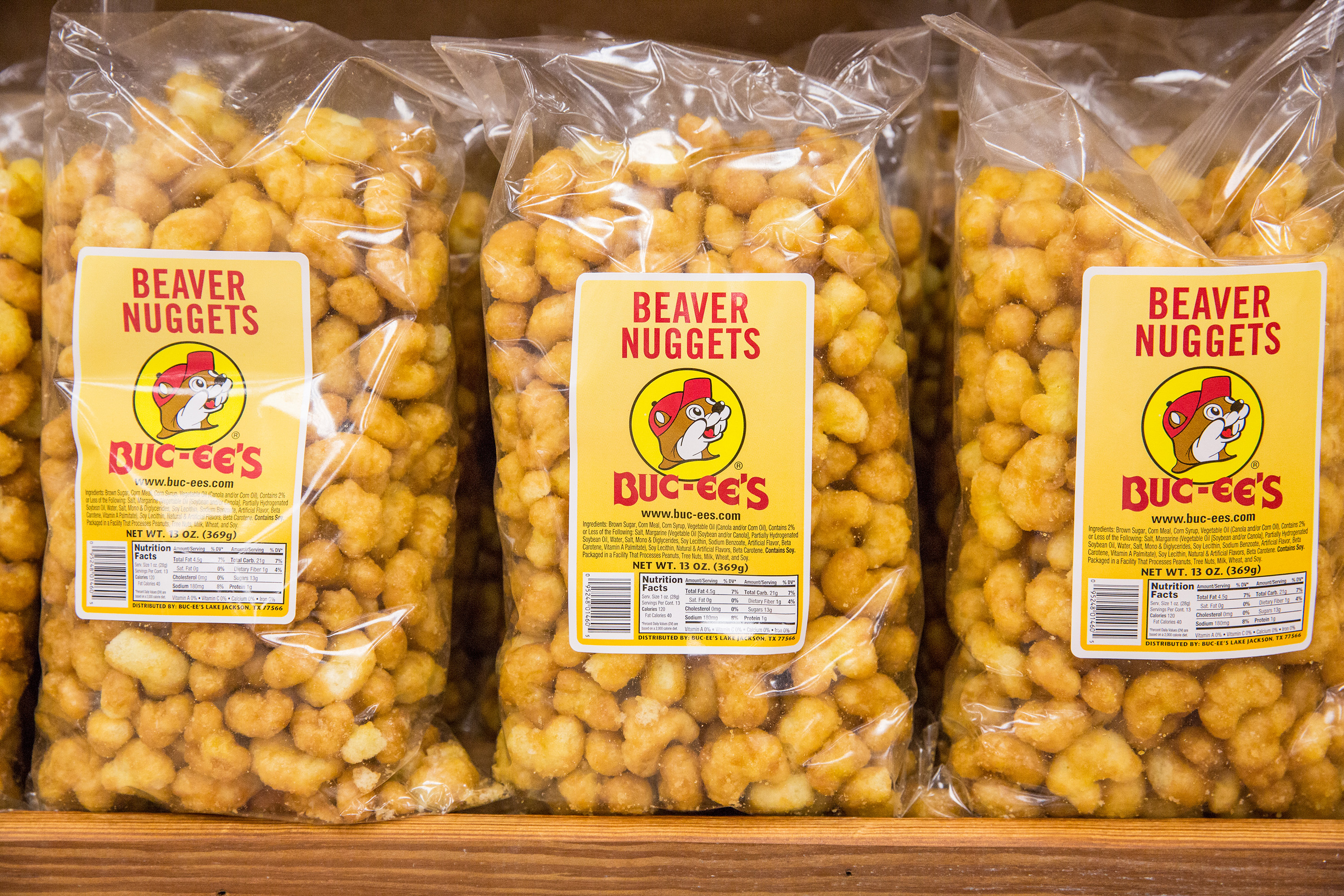 Beaver Nuggets at Buc-ee's