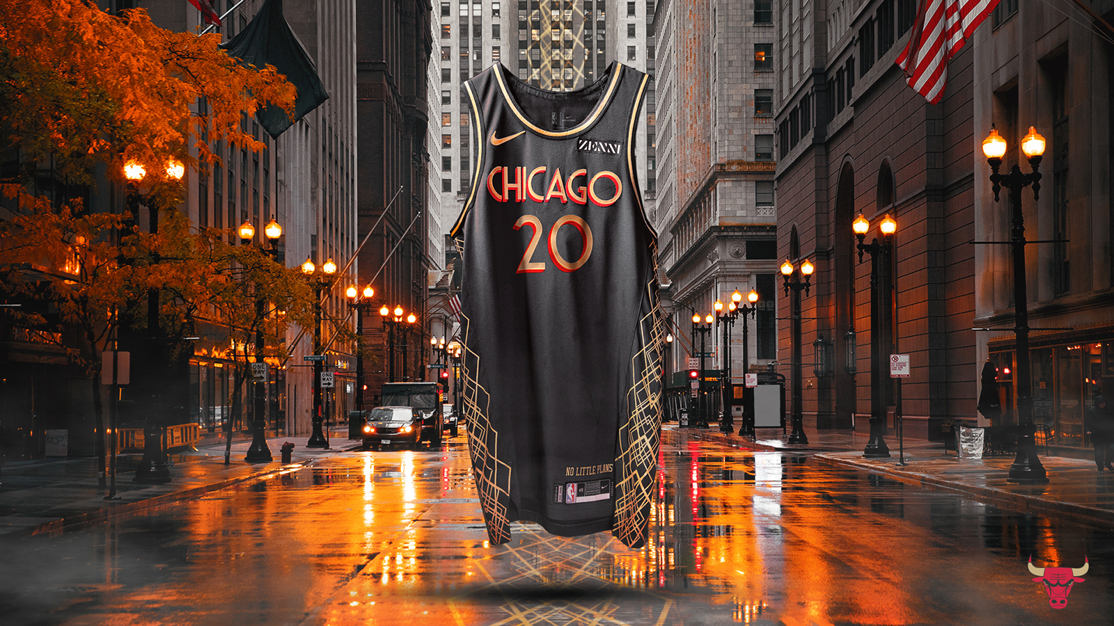 The Bulls have unveiled this season's City Edition jersey.