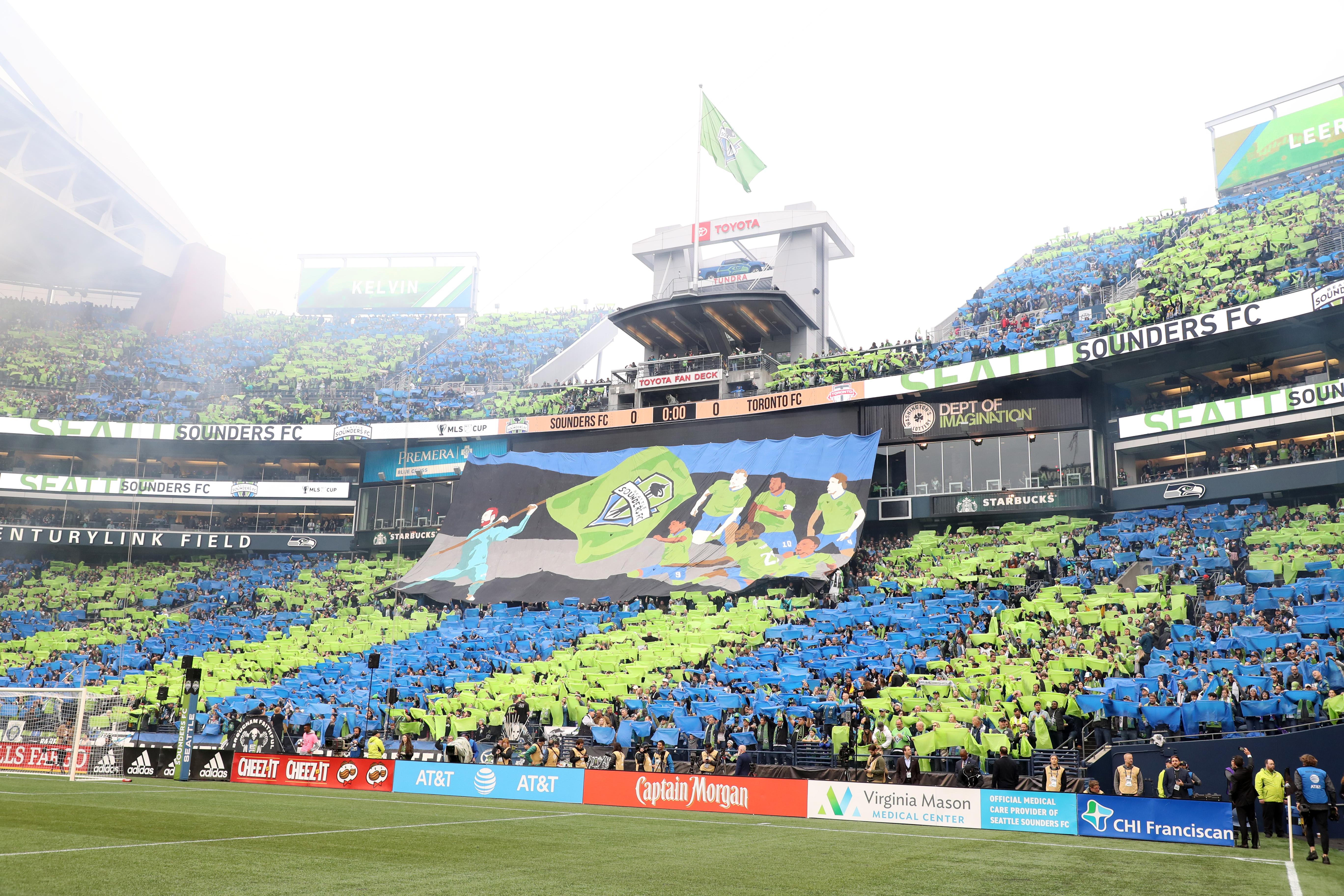 2019 MLS CUP  - 多伦多FC v西雅图探测器