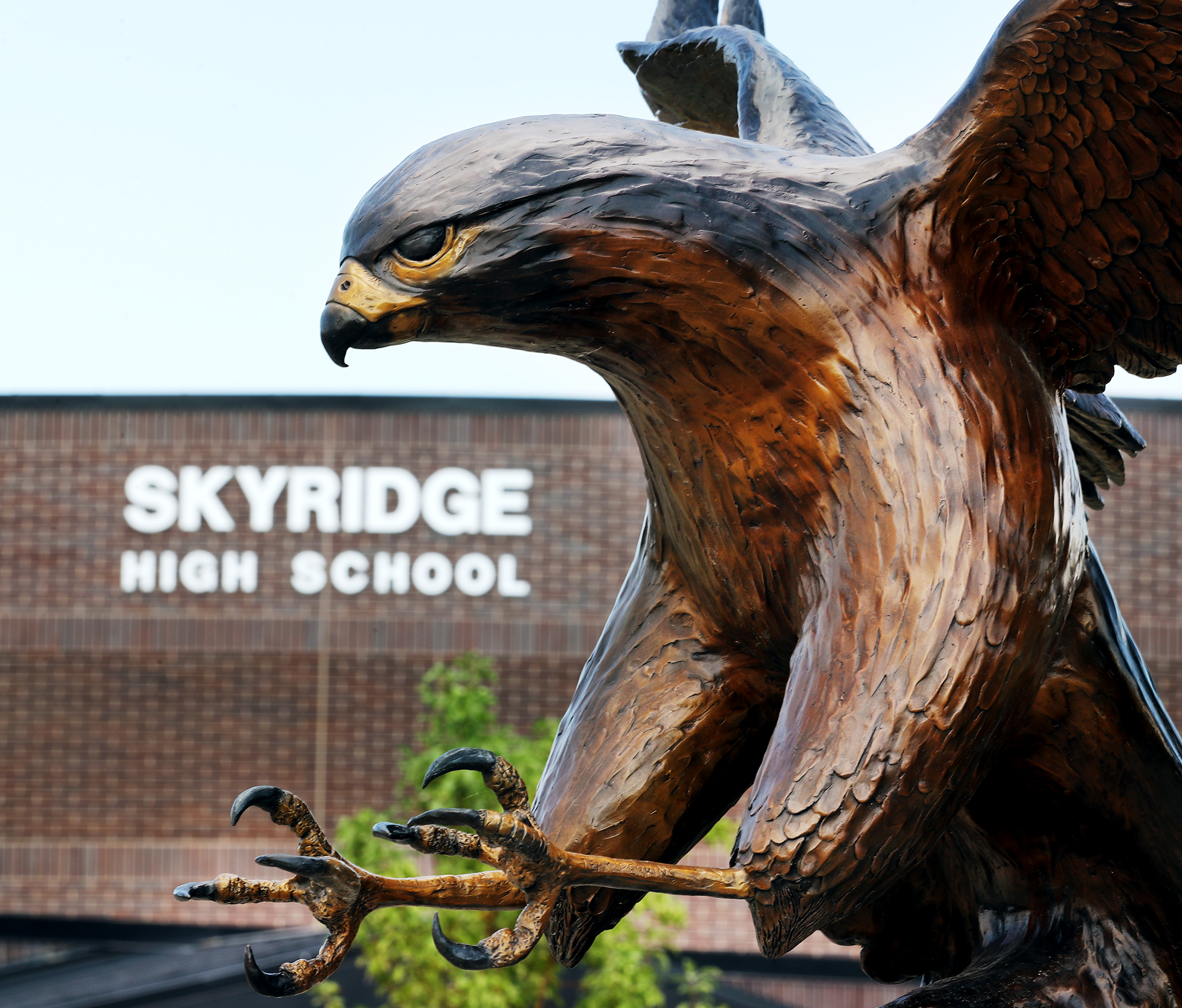 Skyridge High School in Lehi is pictured on Wednesday, Aug. 19, 2020.
