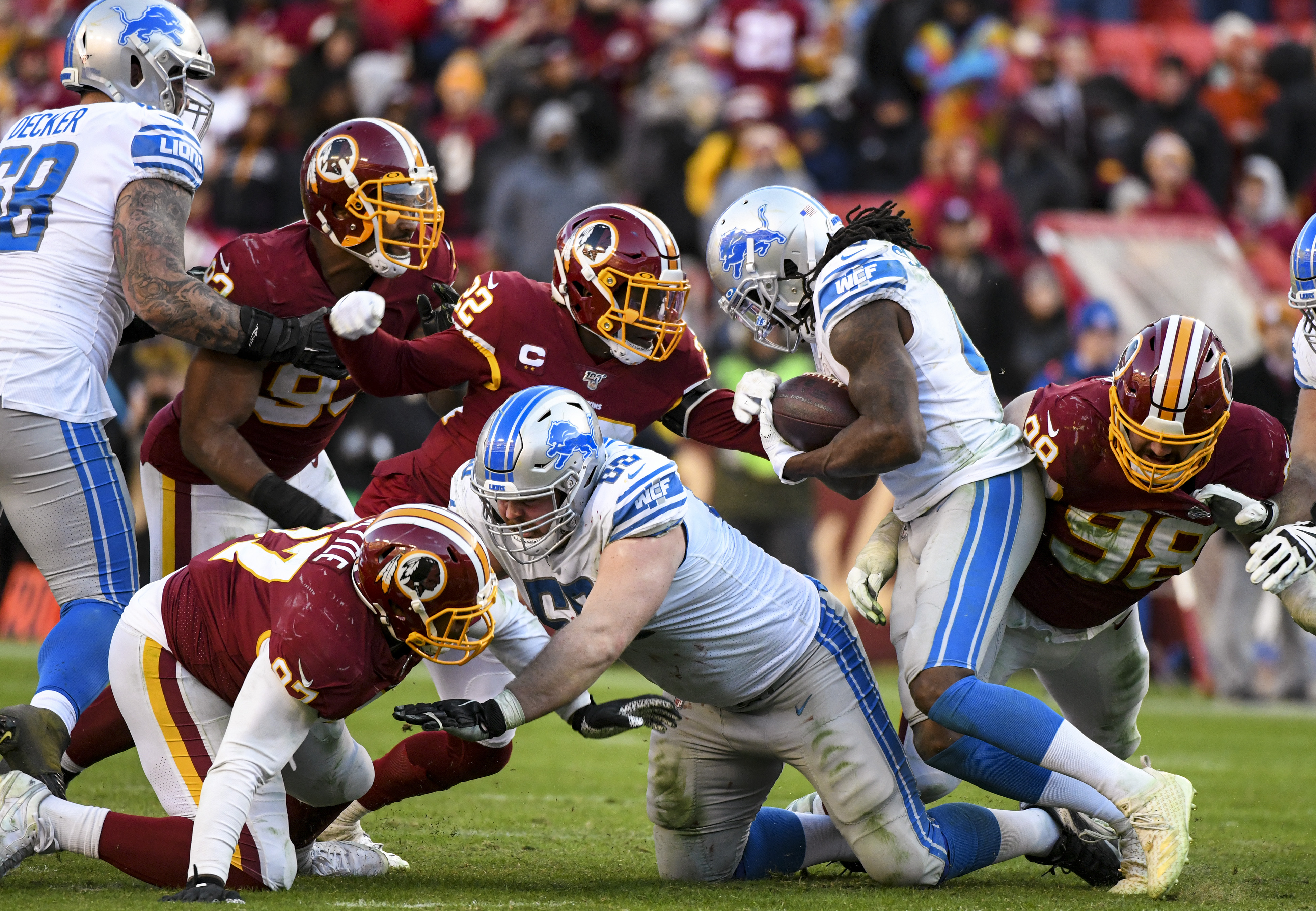 NFL: NOV 24 Lions at Redskins