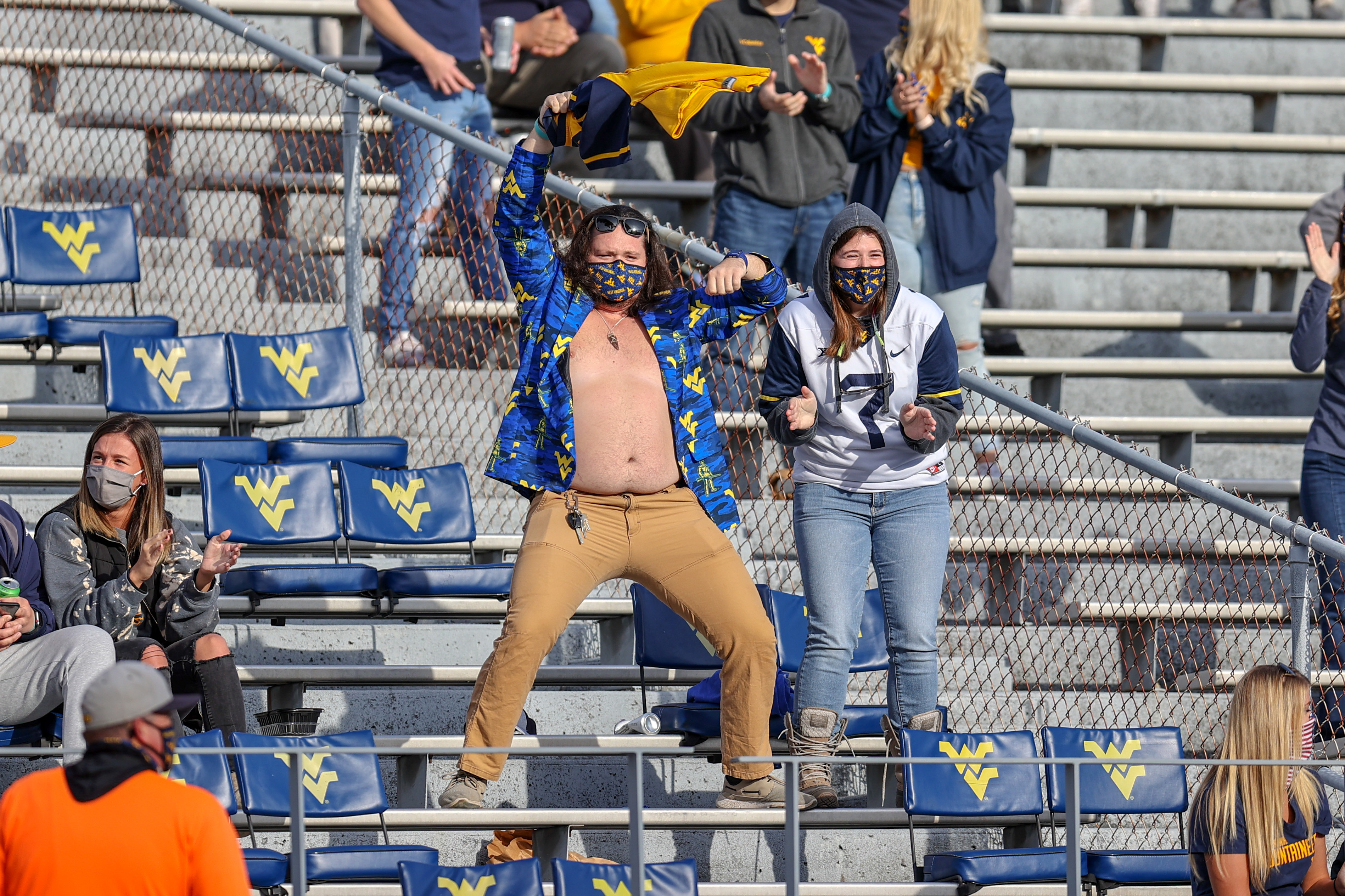 COLLEGE FOOTBALL: NOV 14 TCU at West Virginia