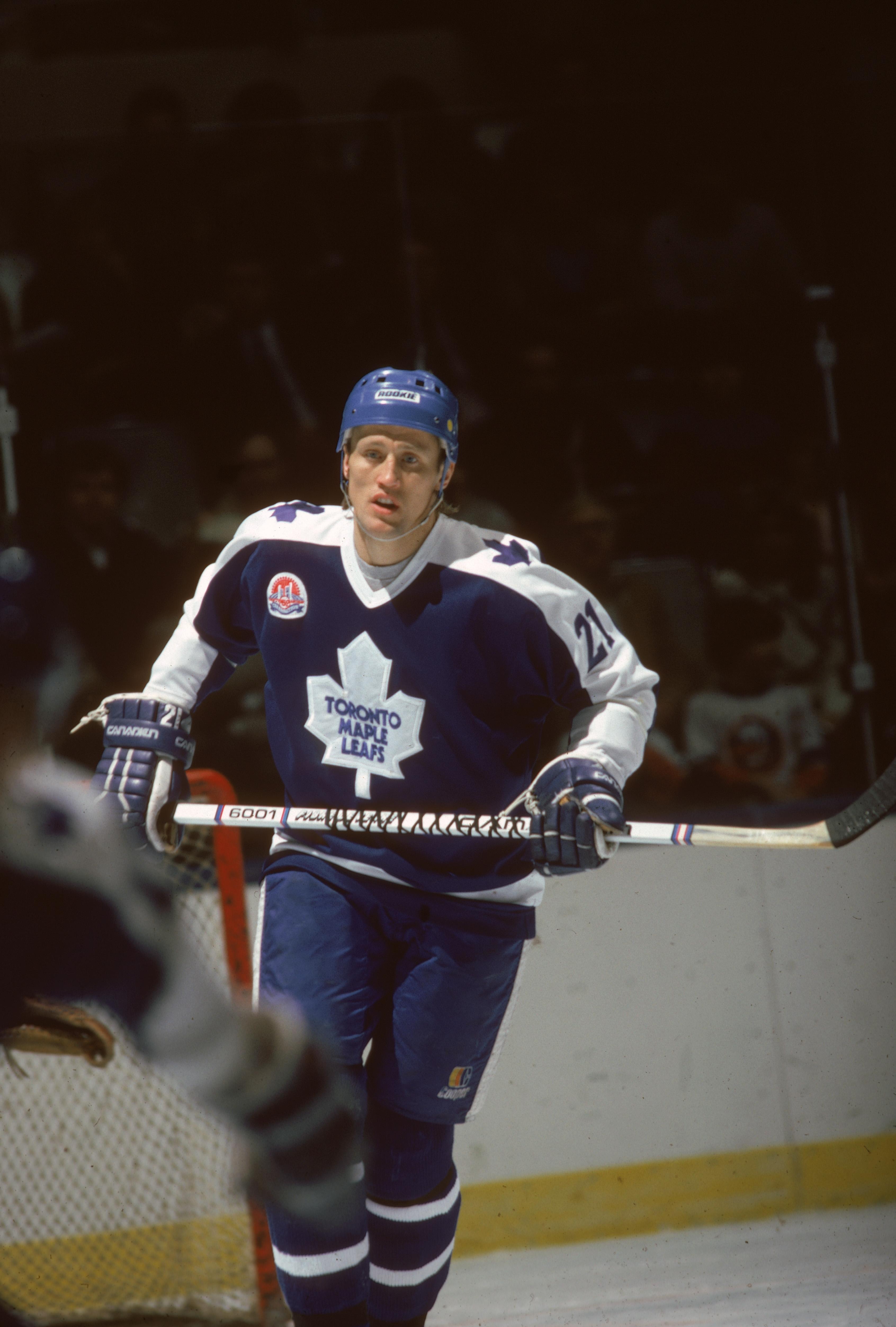 Borje Salming Of Toronto Maple Leafs