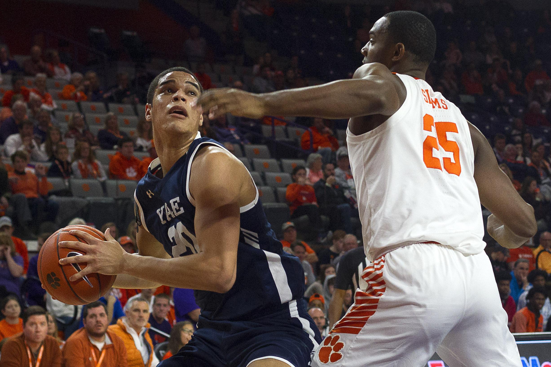 NCAA Basketball: Yale at Clemson