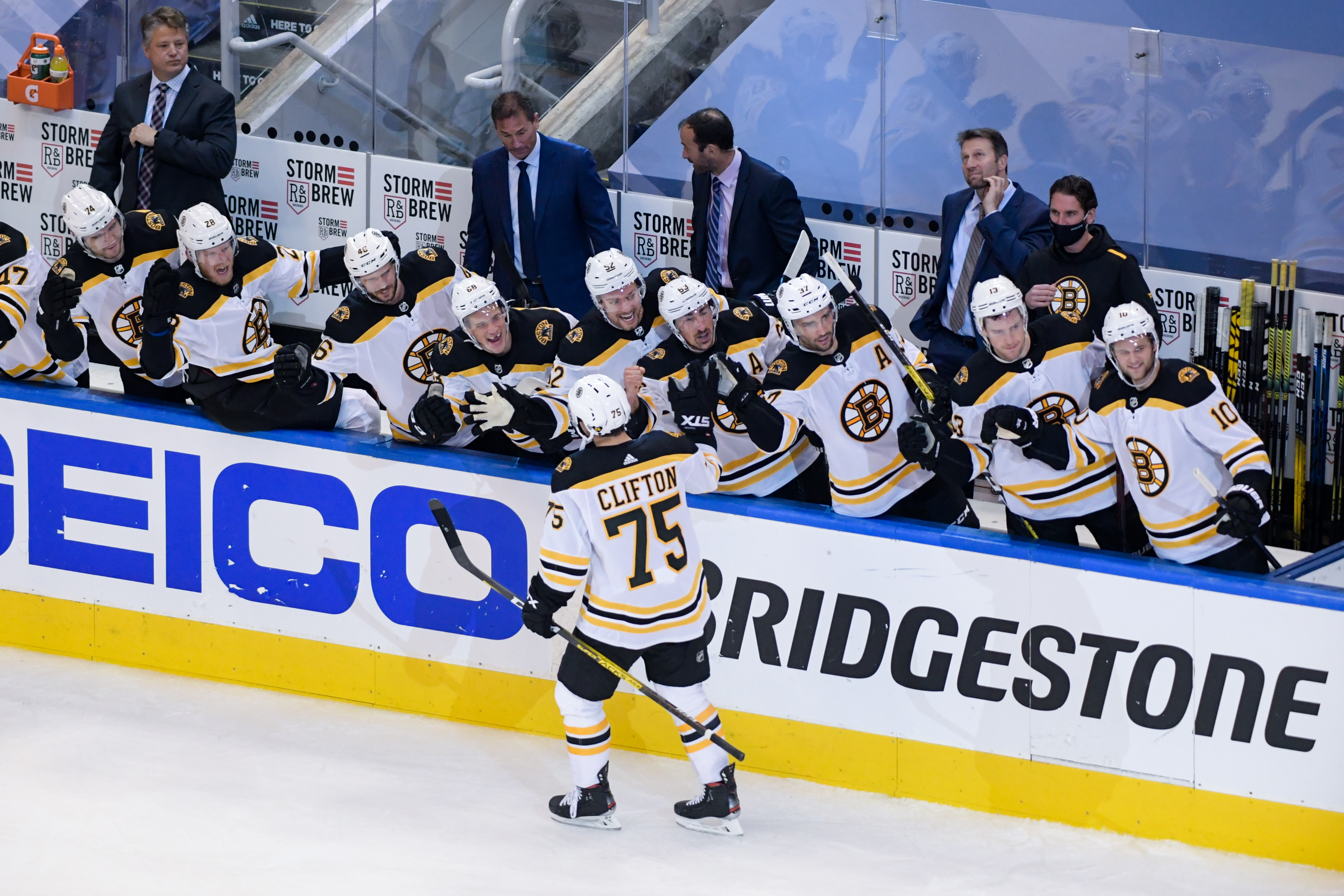 NHL: Stanley Cup Playoffs-Boston Bruins at Carolina Hurricanes