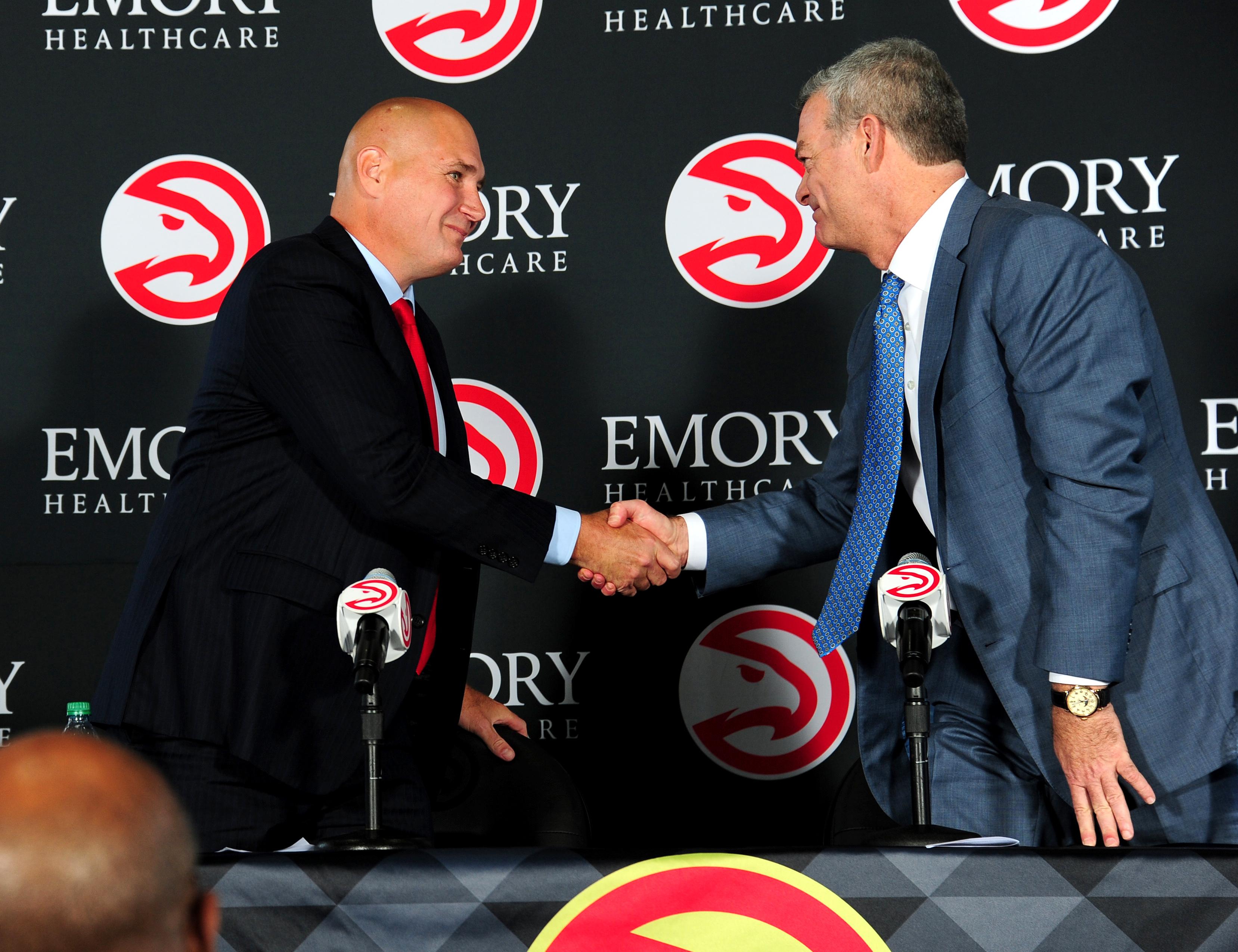 Atlanta Hawks General Manager Press Conference