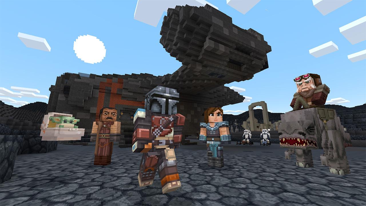 Mando and The Child Minecraft