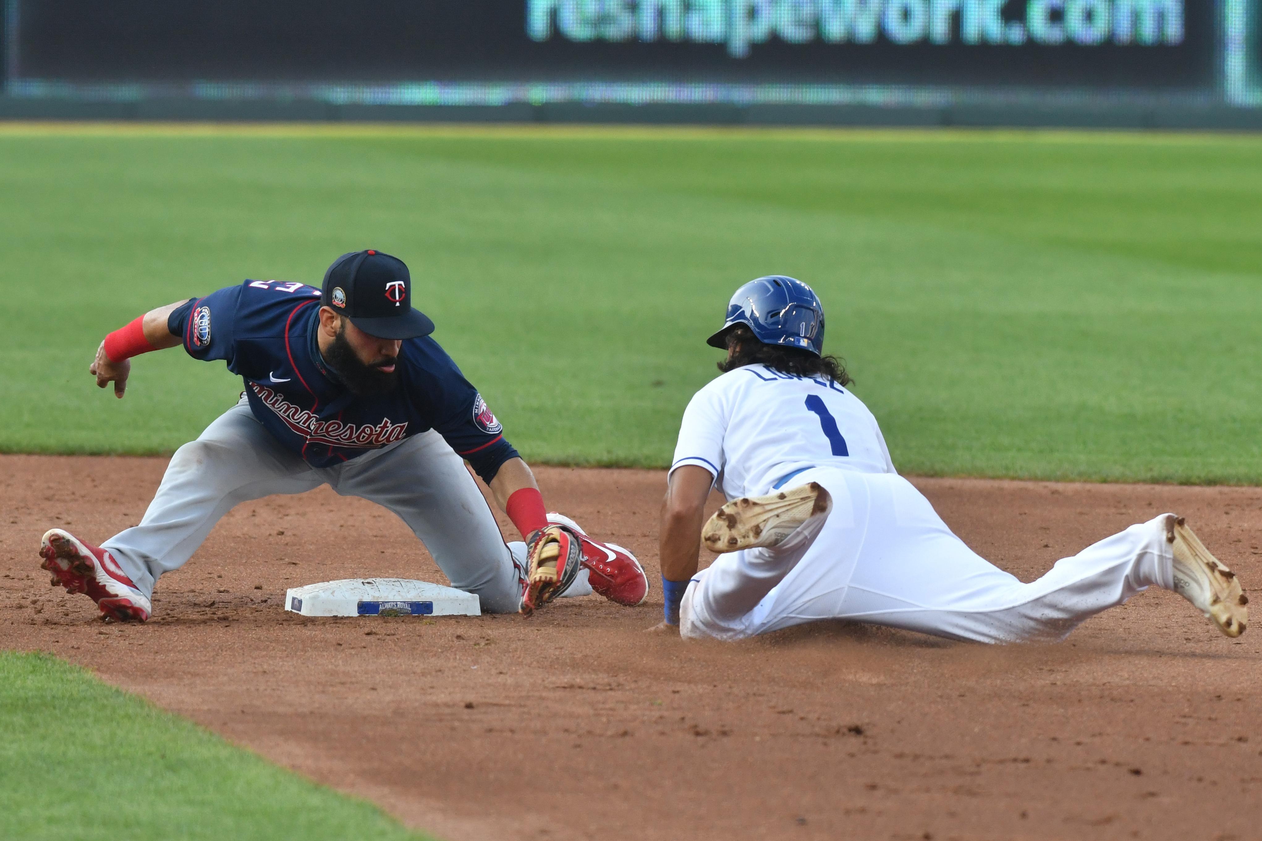MLB: AUG 08 Twins at Royals