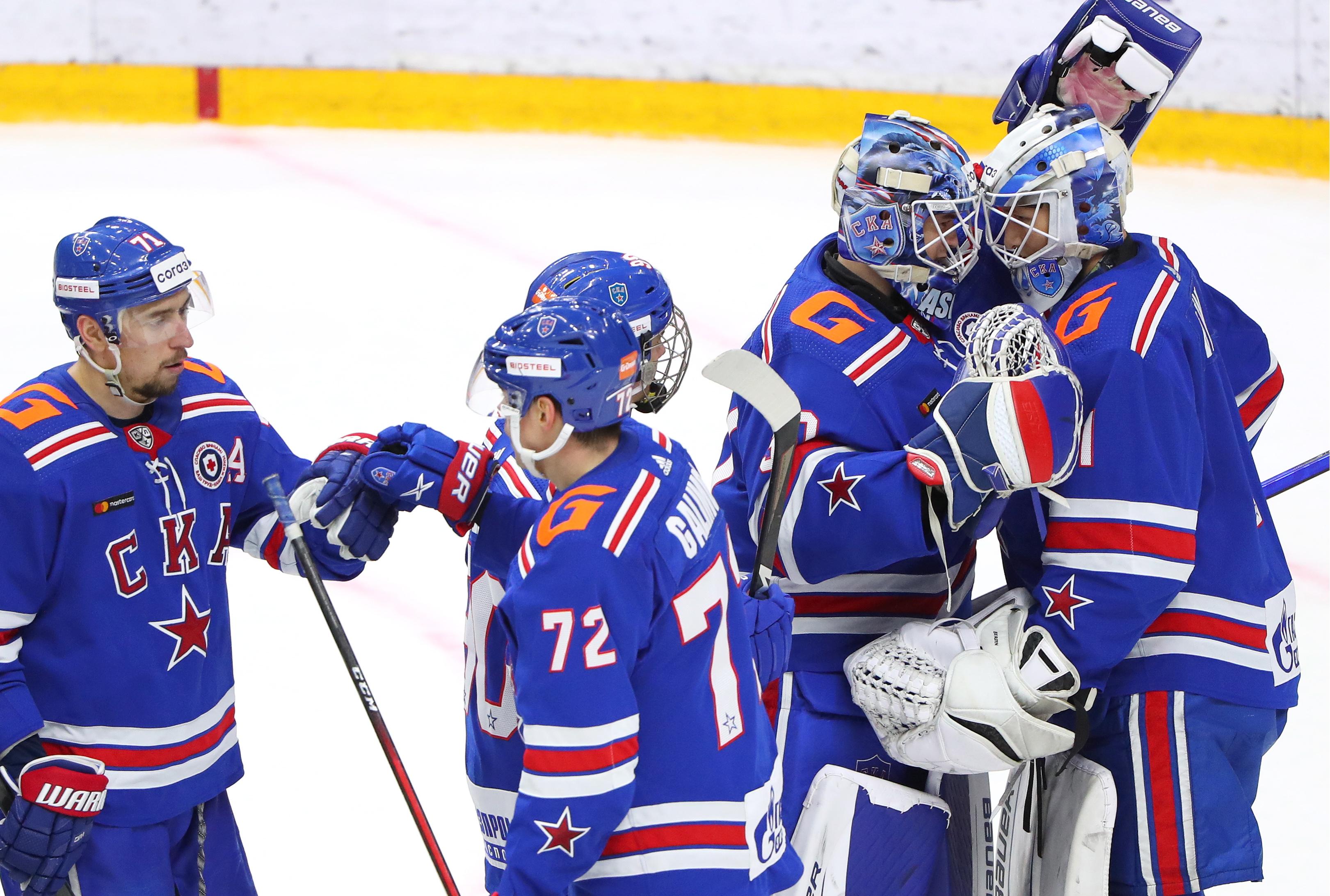 2020/2021 Kontinental Hockey League: SKA St Petersburg 5 - 2 Avangard Omsk