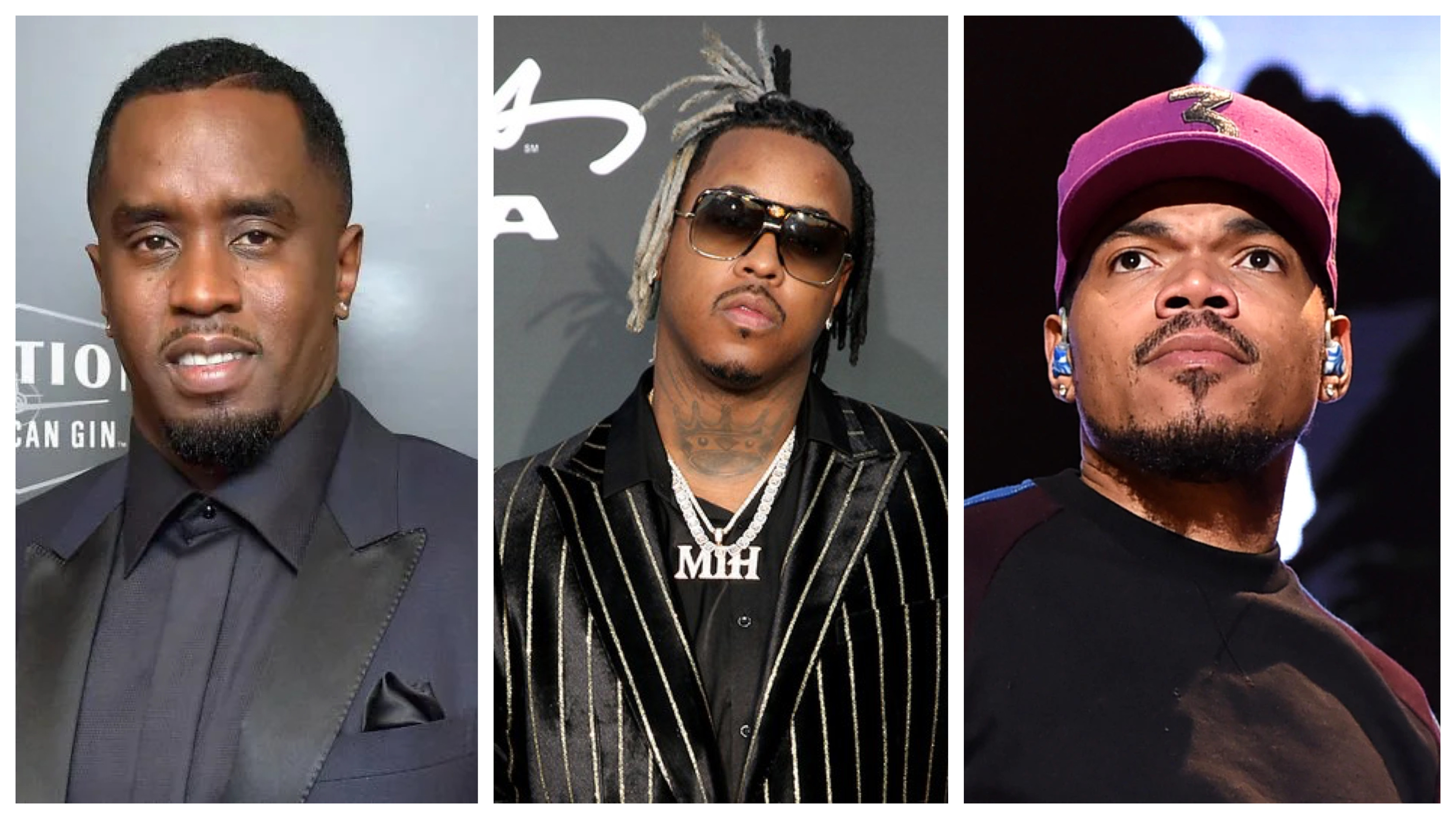 Diddy, Jeremih and Chance The Rapper
