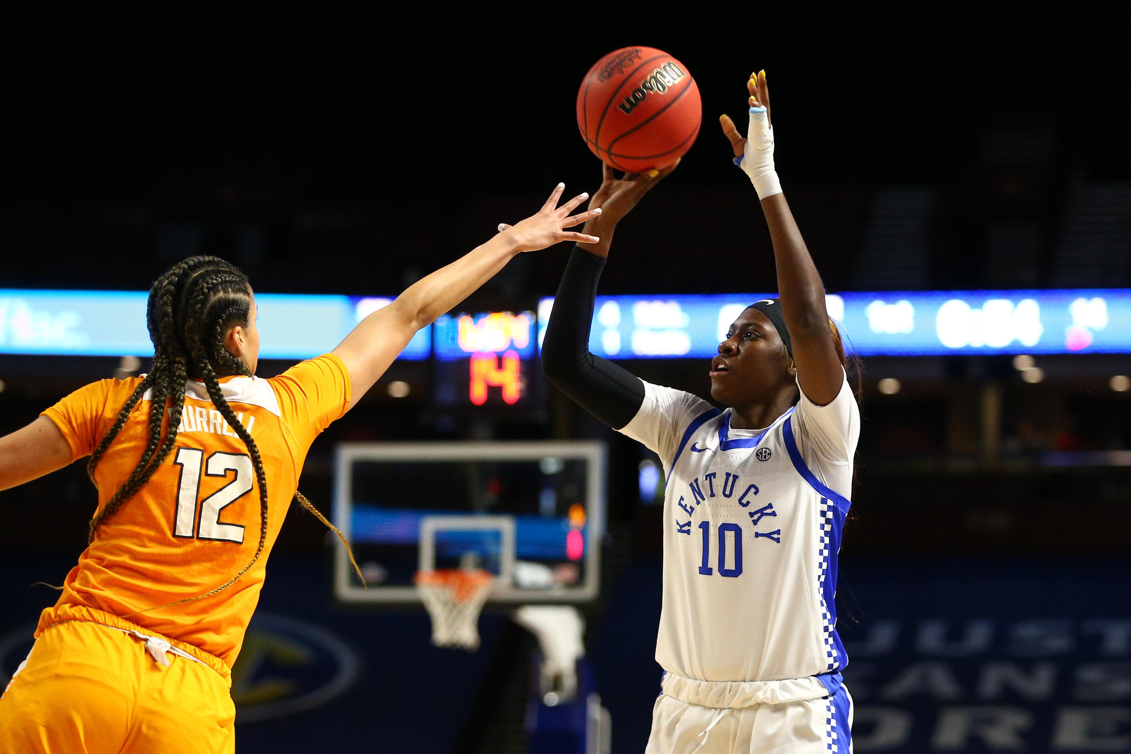NCAA Womens Basketball: SEC Conference Tournament-Tennessee vs Kentucky