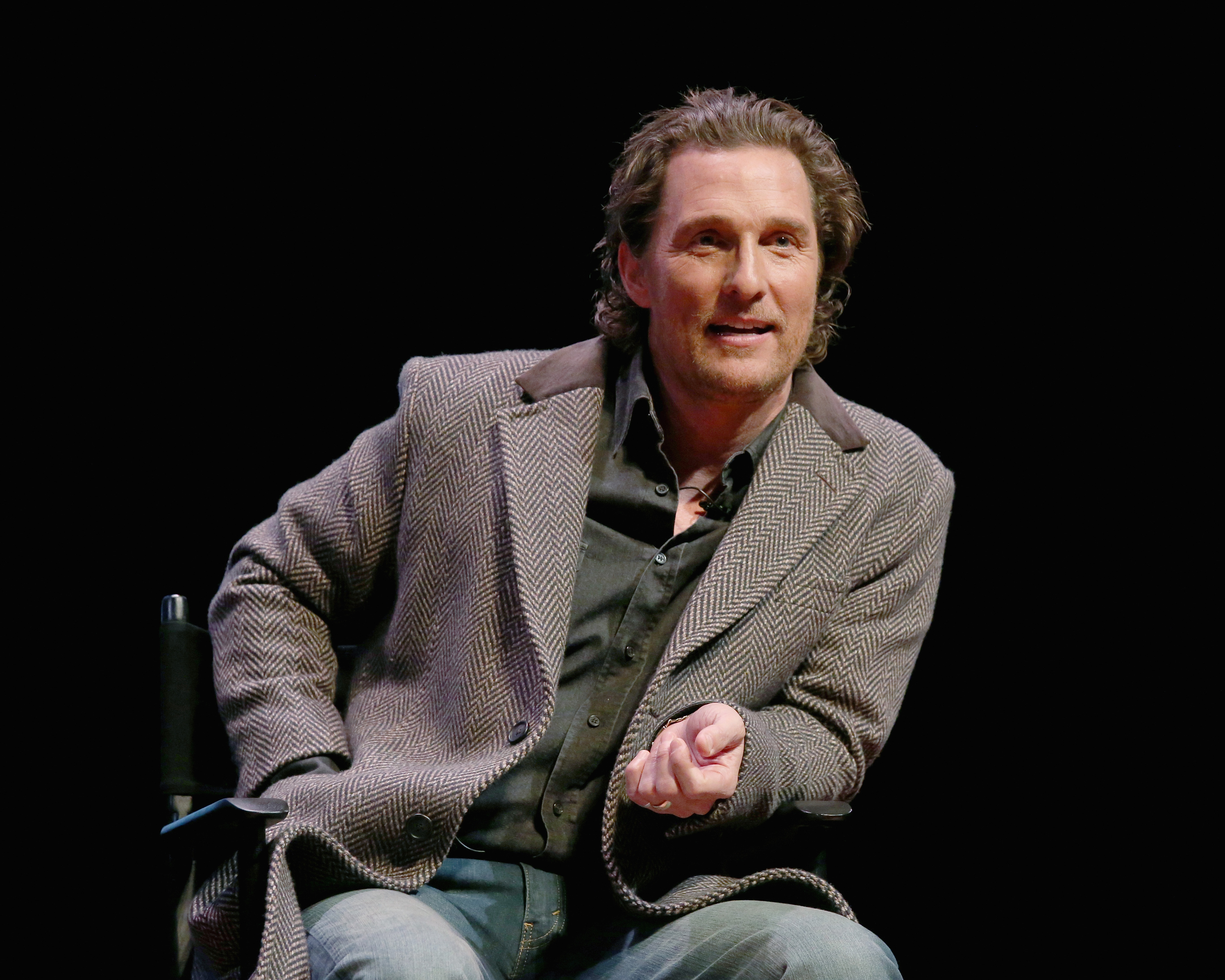 """""""The Gentlemen"""" Screening and Q&A With Matthew McConaughey"""