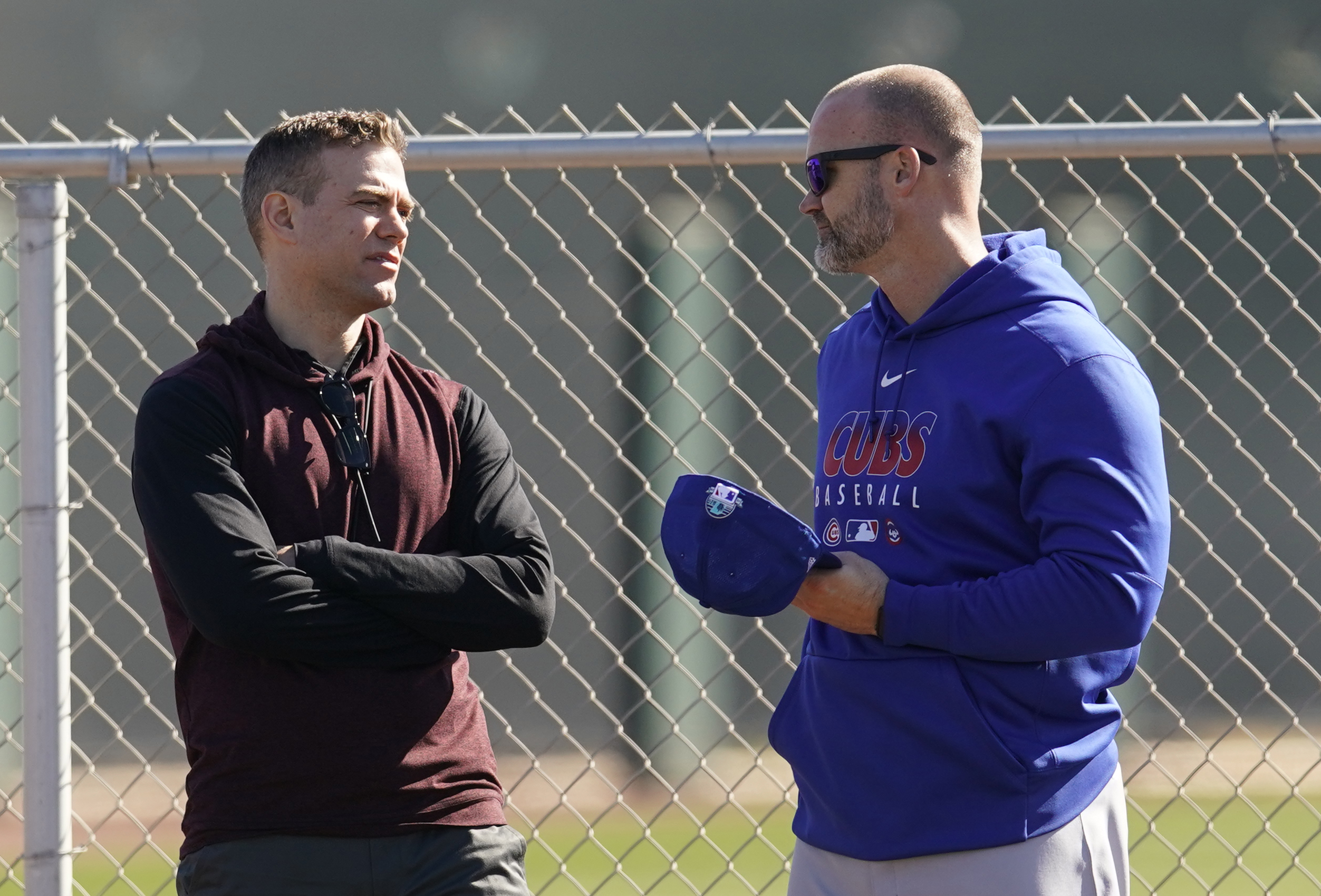 MLB: Chcago Cubs-Workouts