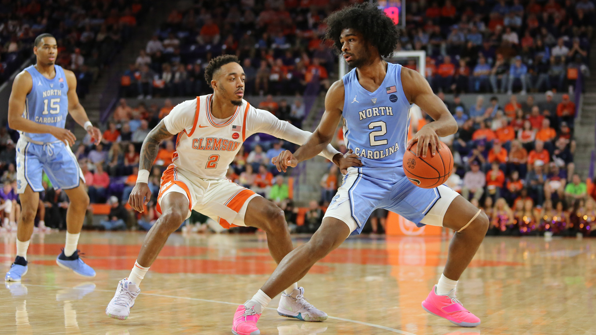 The Bulls' Coby White has been friends with top draft pick Patrick Williams for years.
