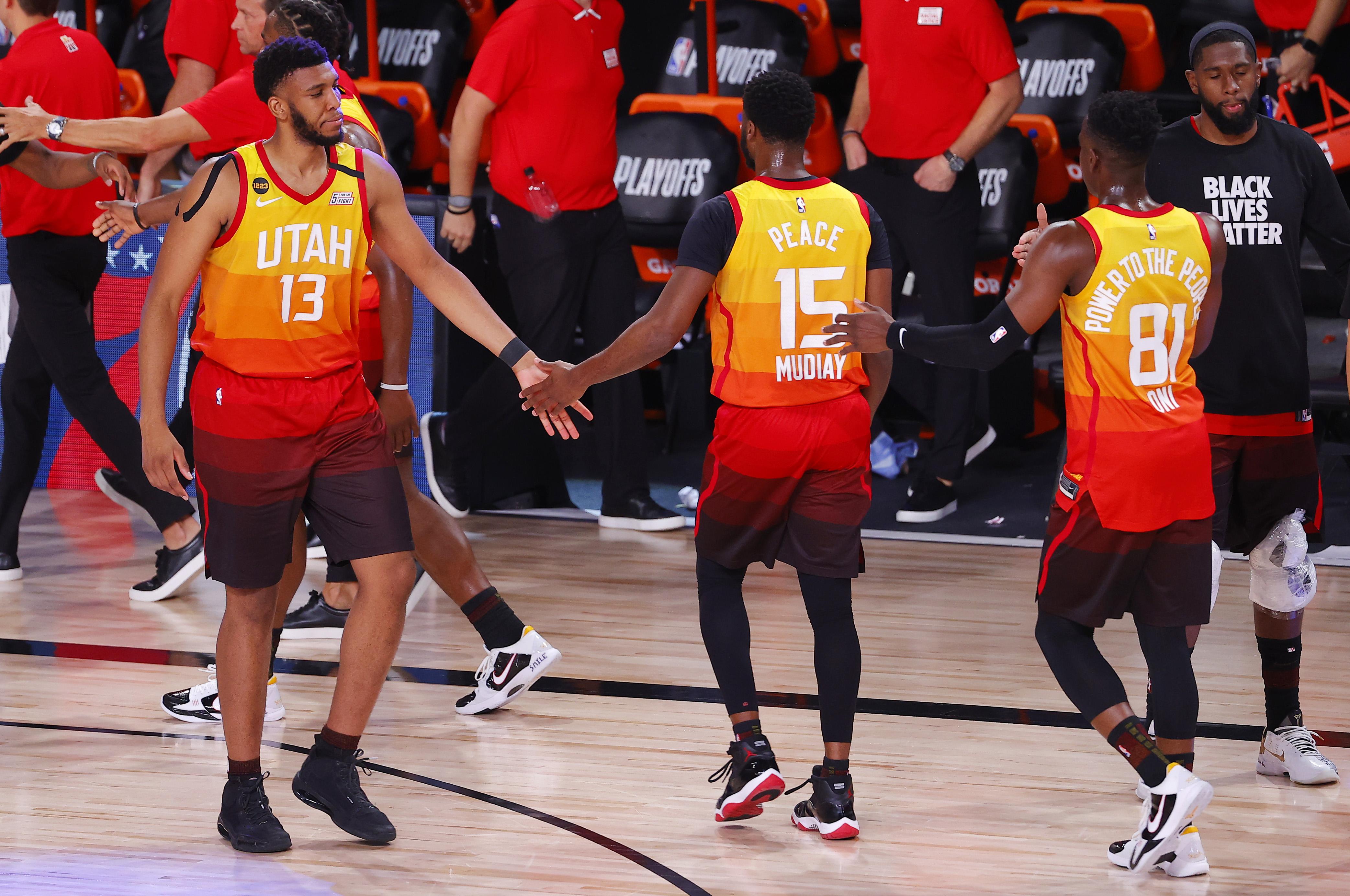 NBA: Playoffs-Denver Nuggets at Utah Jazz