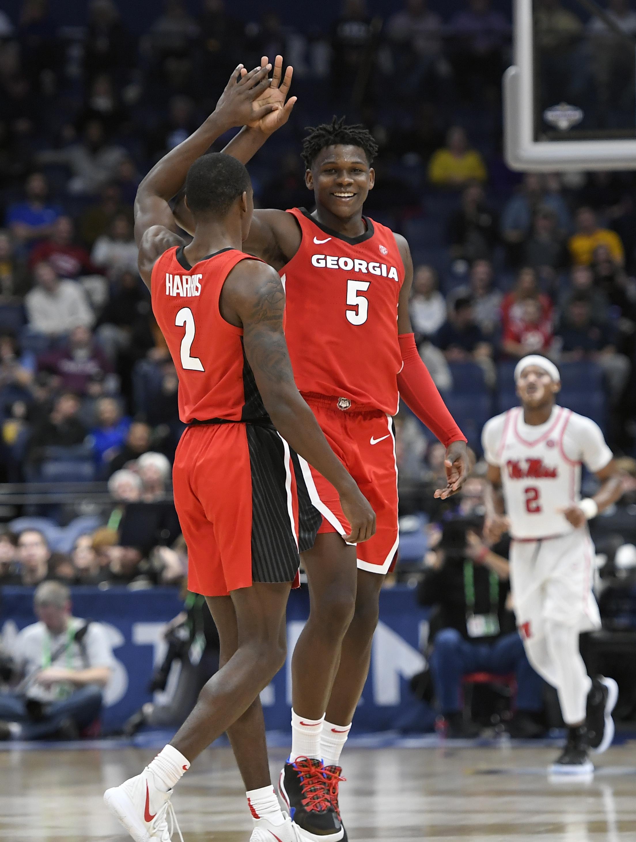 NCAA Basketball: SEC Tournament-Georgia vs Mississippi