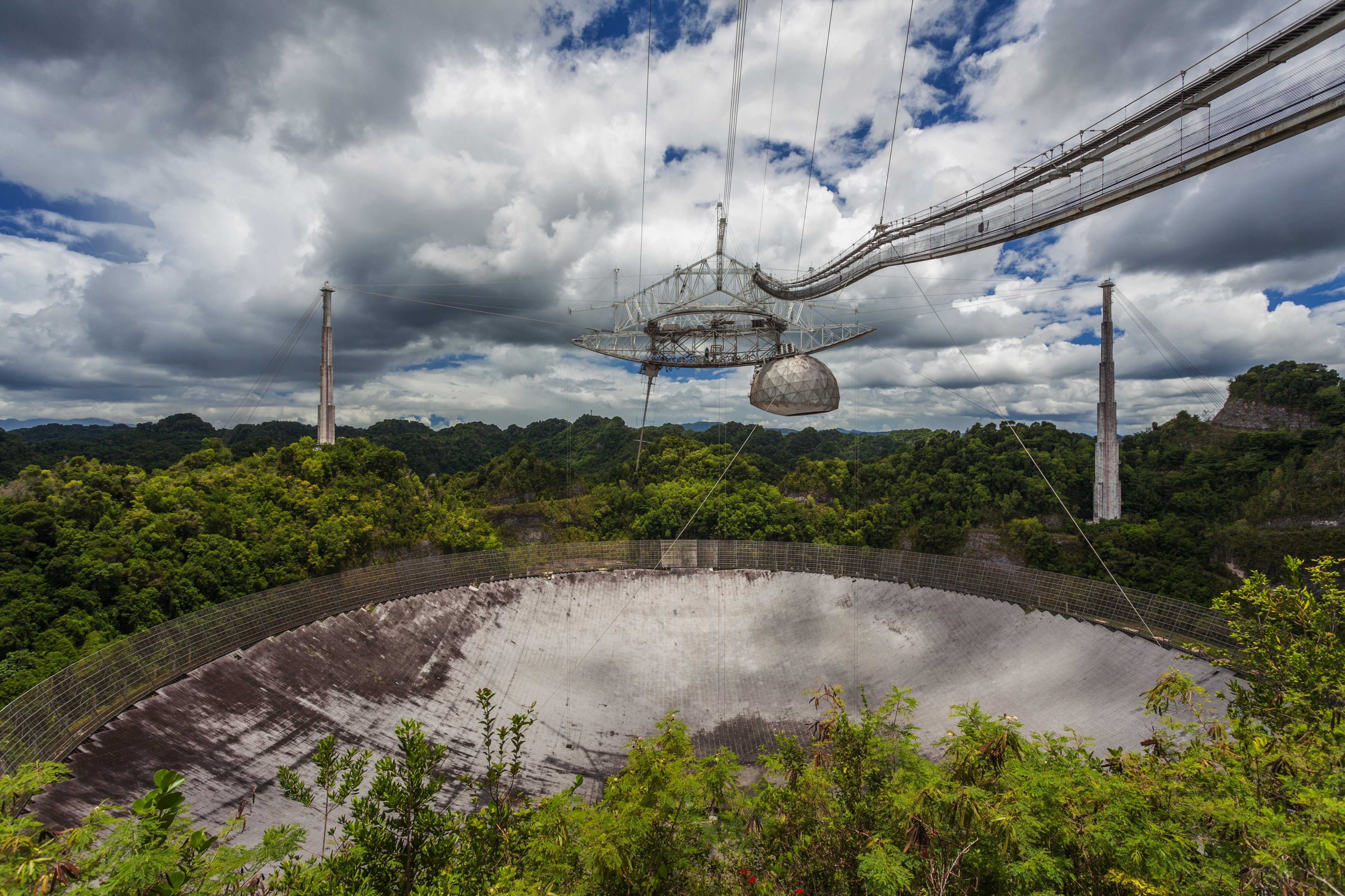 Radio Telescope, Arecibo Observatory, Puerto Rico
