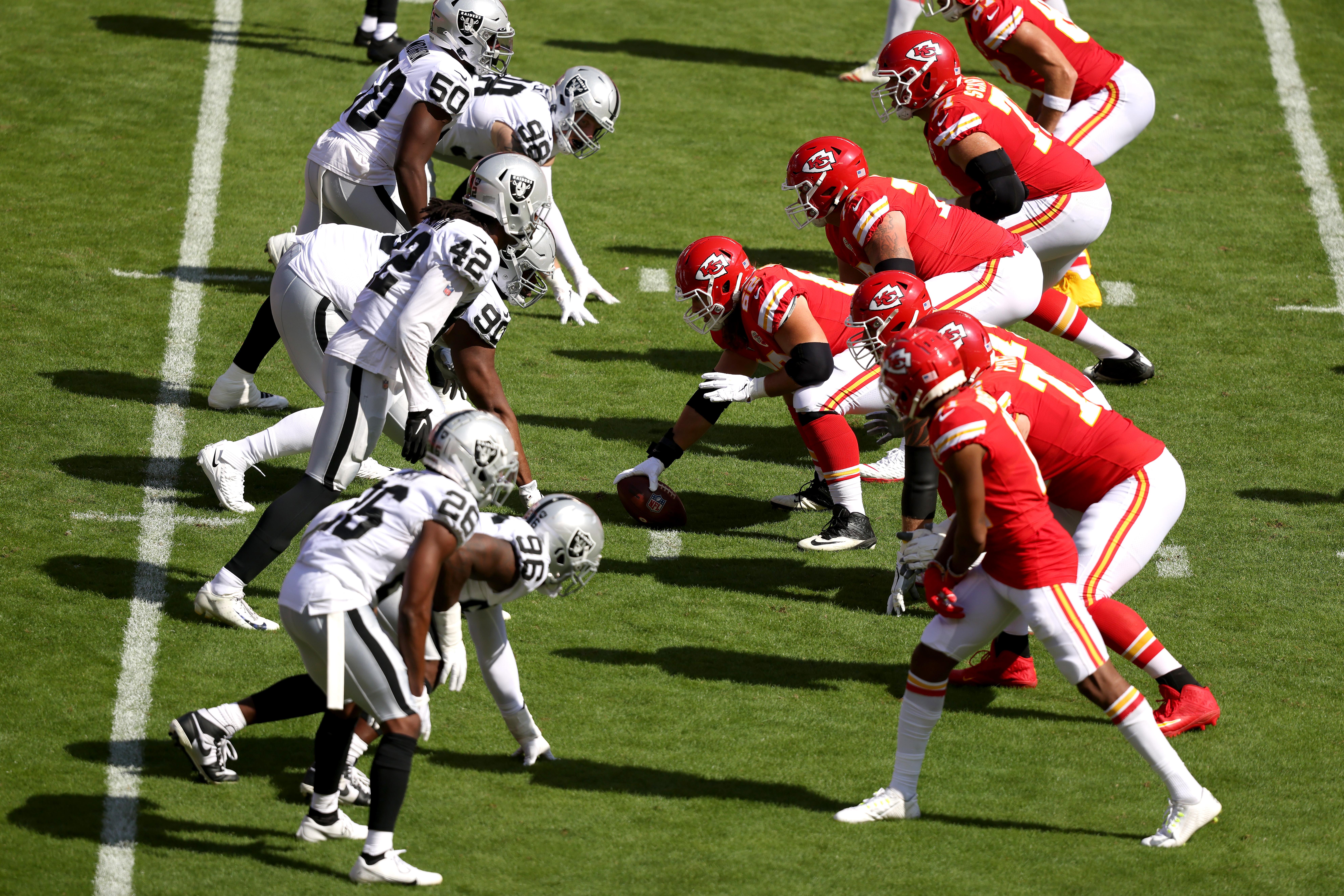 Las Vegas Raiders v Kansas City Chiefs