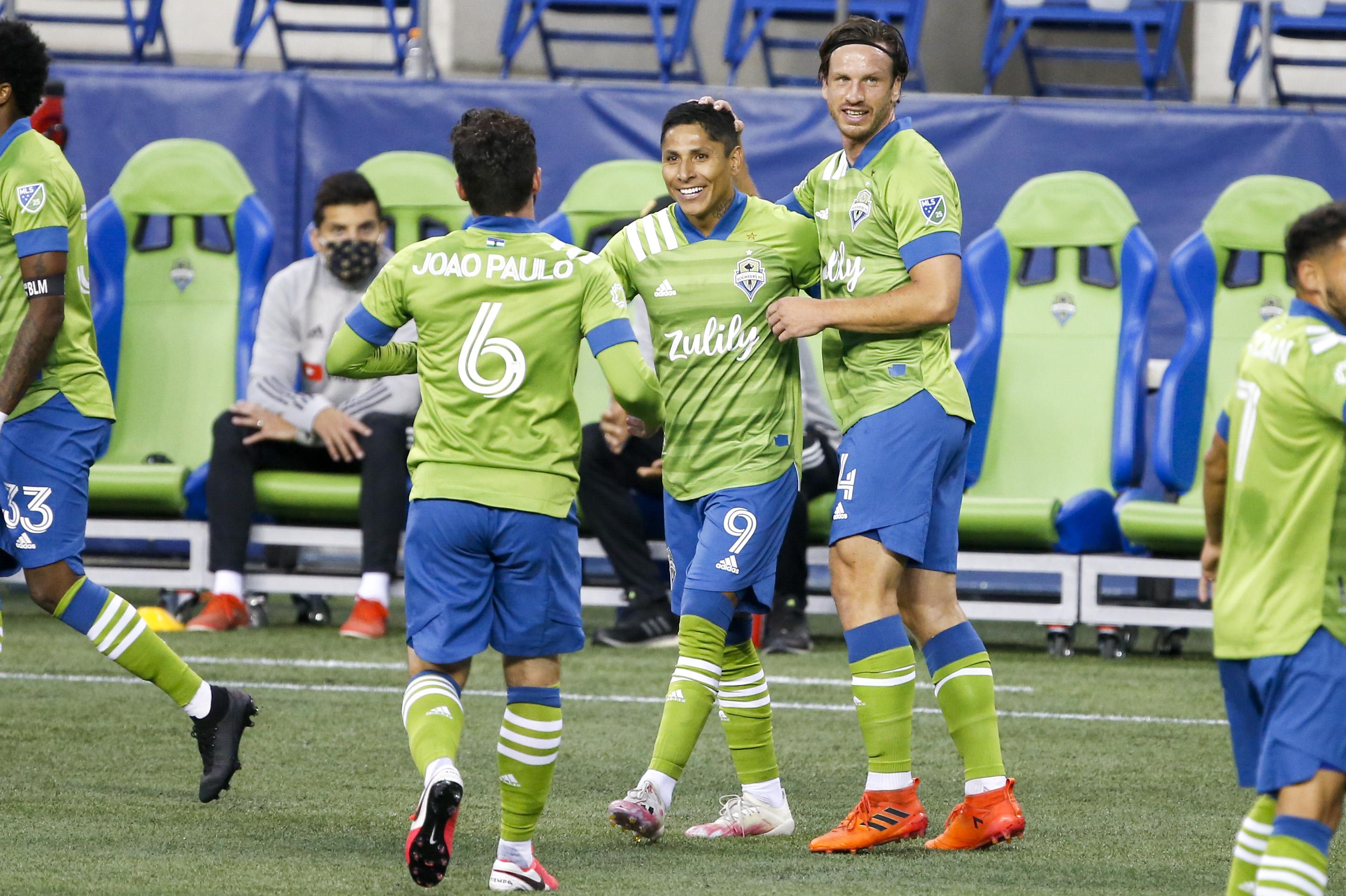 MLS:西雅图探测器FC的洛杉矶FC