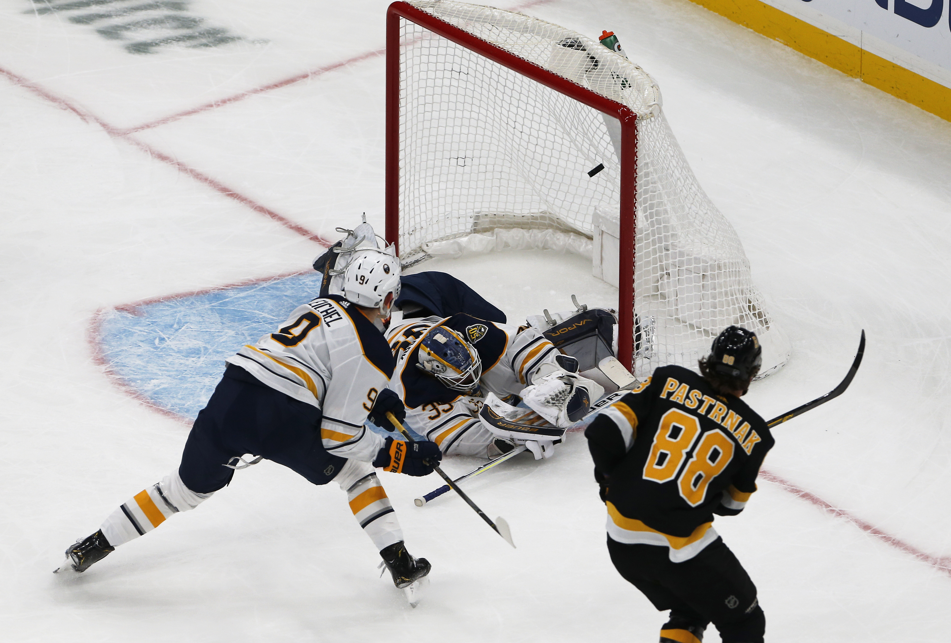 Buffalo Sabres Vs. Boston Bruins at TD Garden