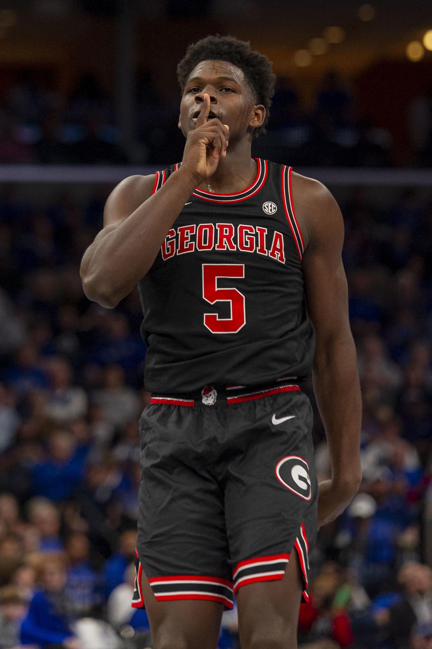 NCAA Basketball: Georgia at Memphis