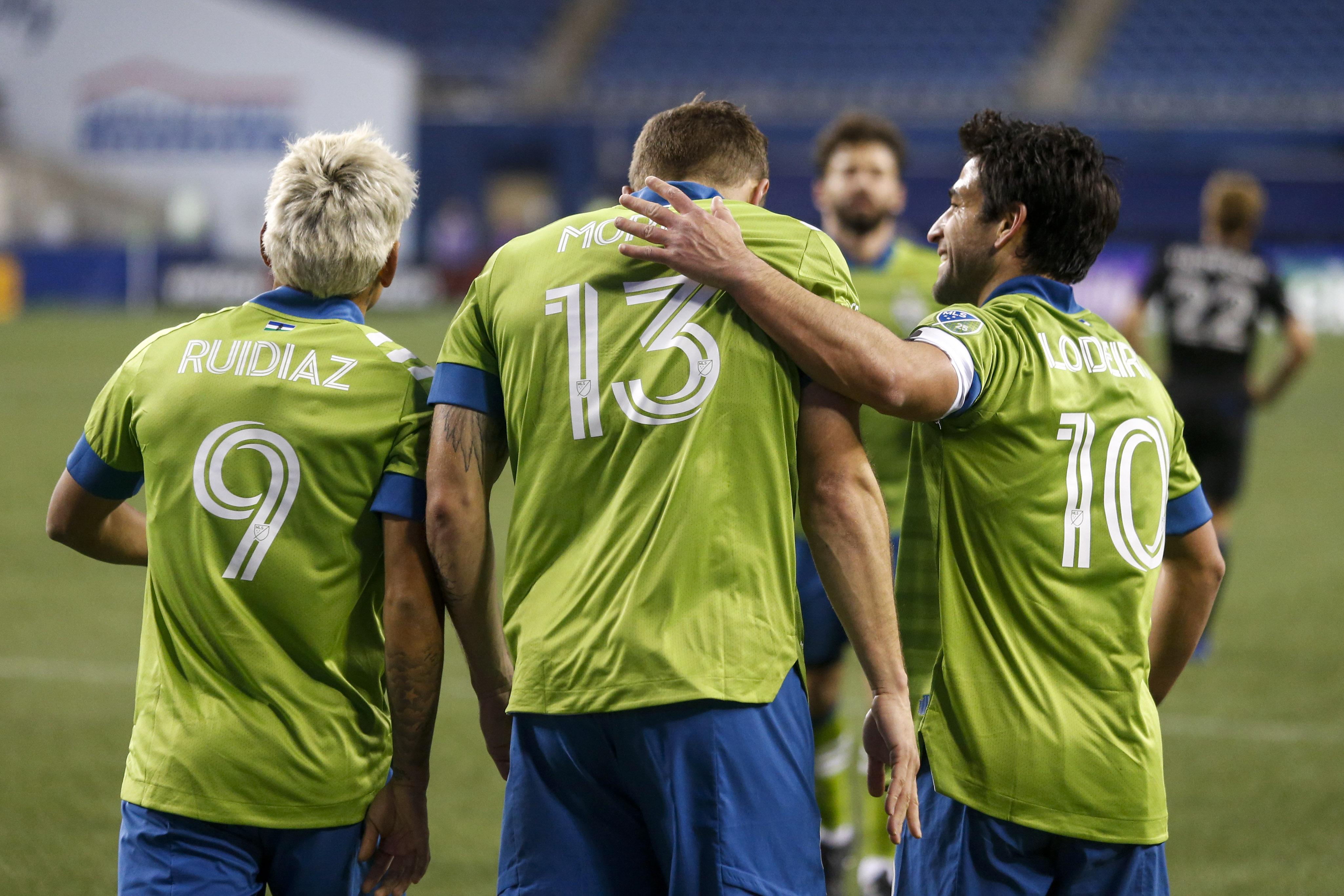 MLS:西雅图探测器的圣何塞地震FC