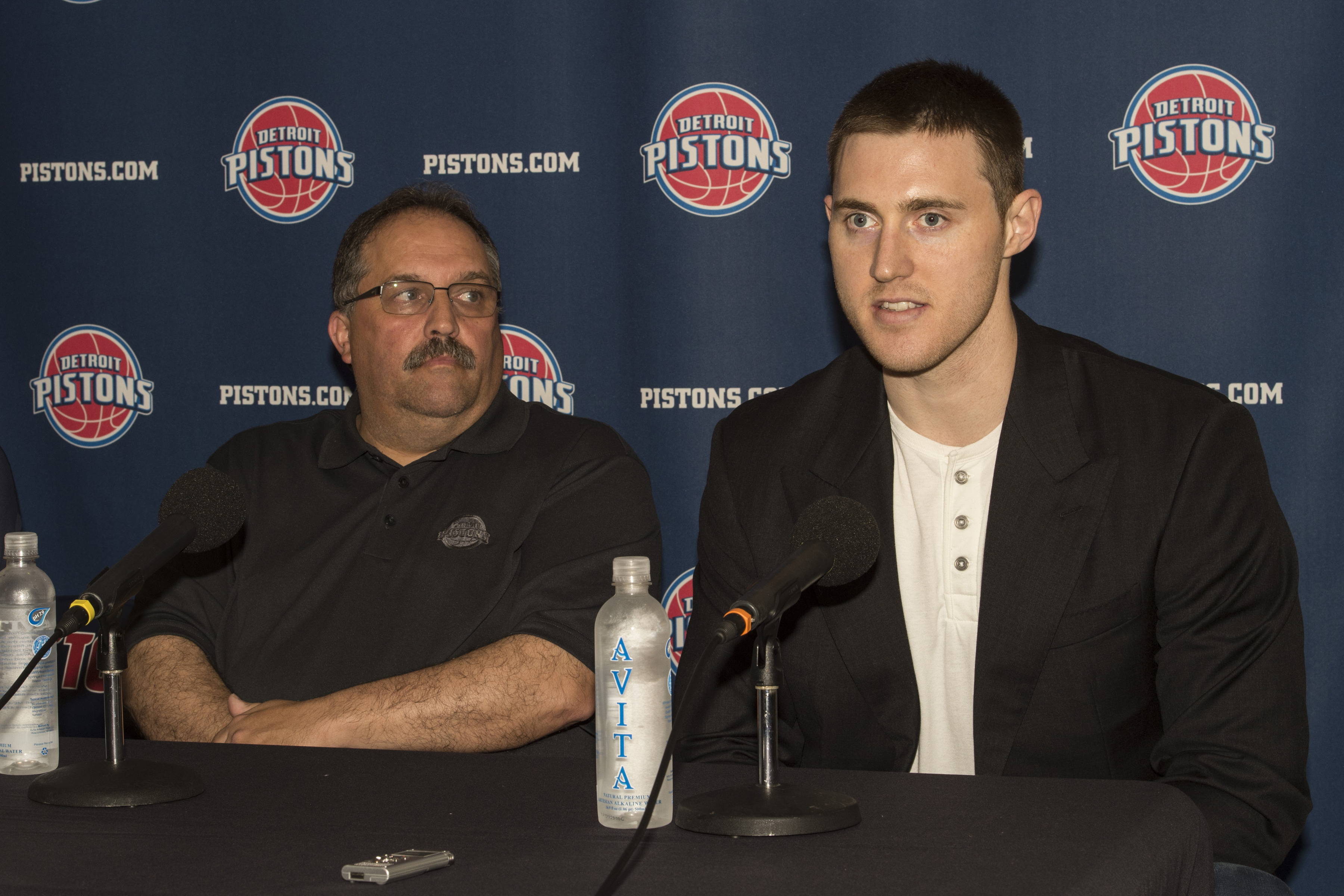 Detroit Pistons Introduce New Players