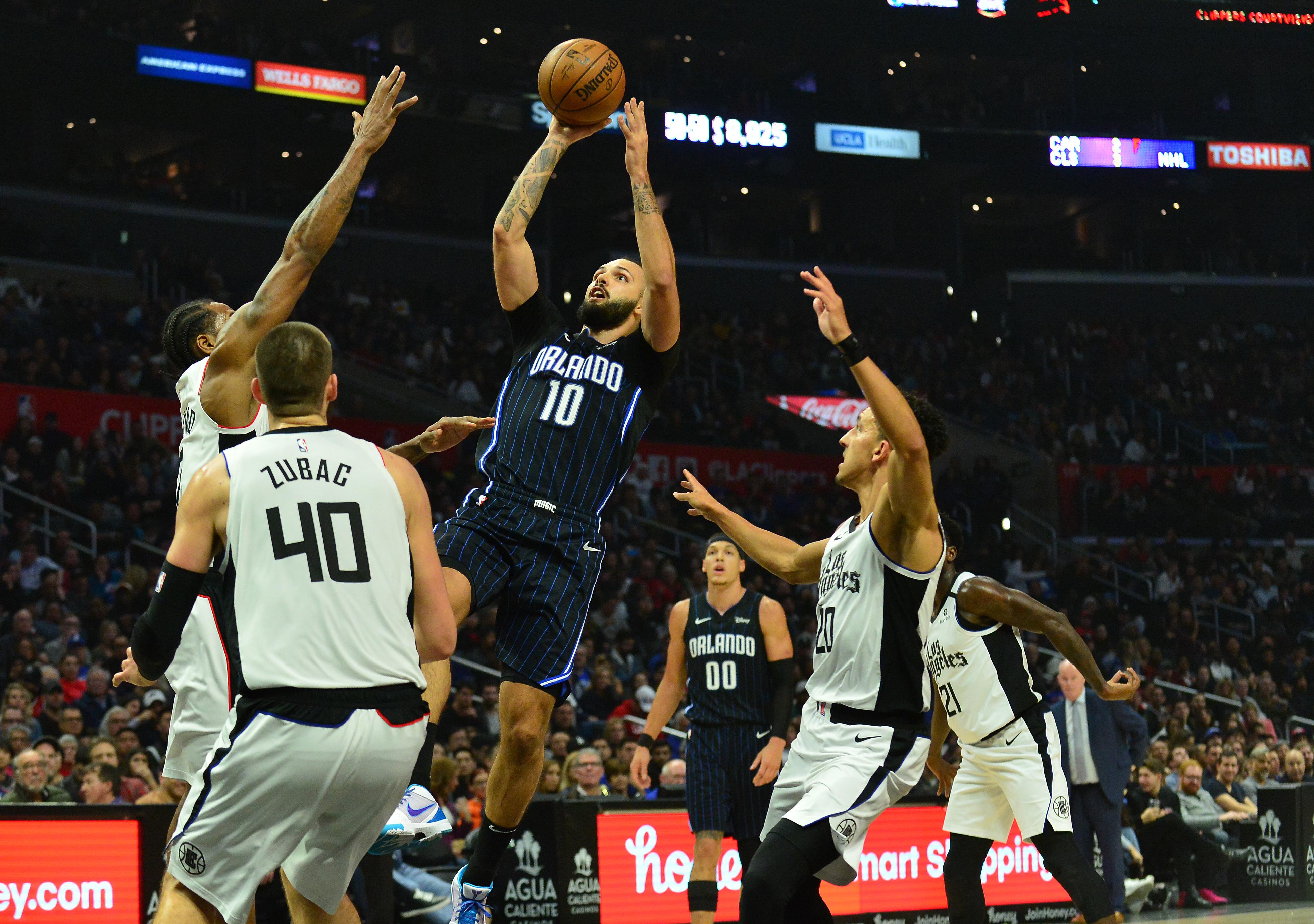 NBA: Orlando Magic at Los Angeles Clippers