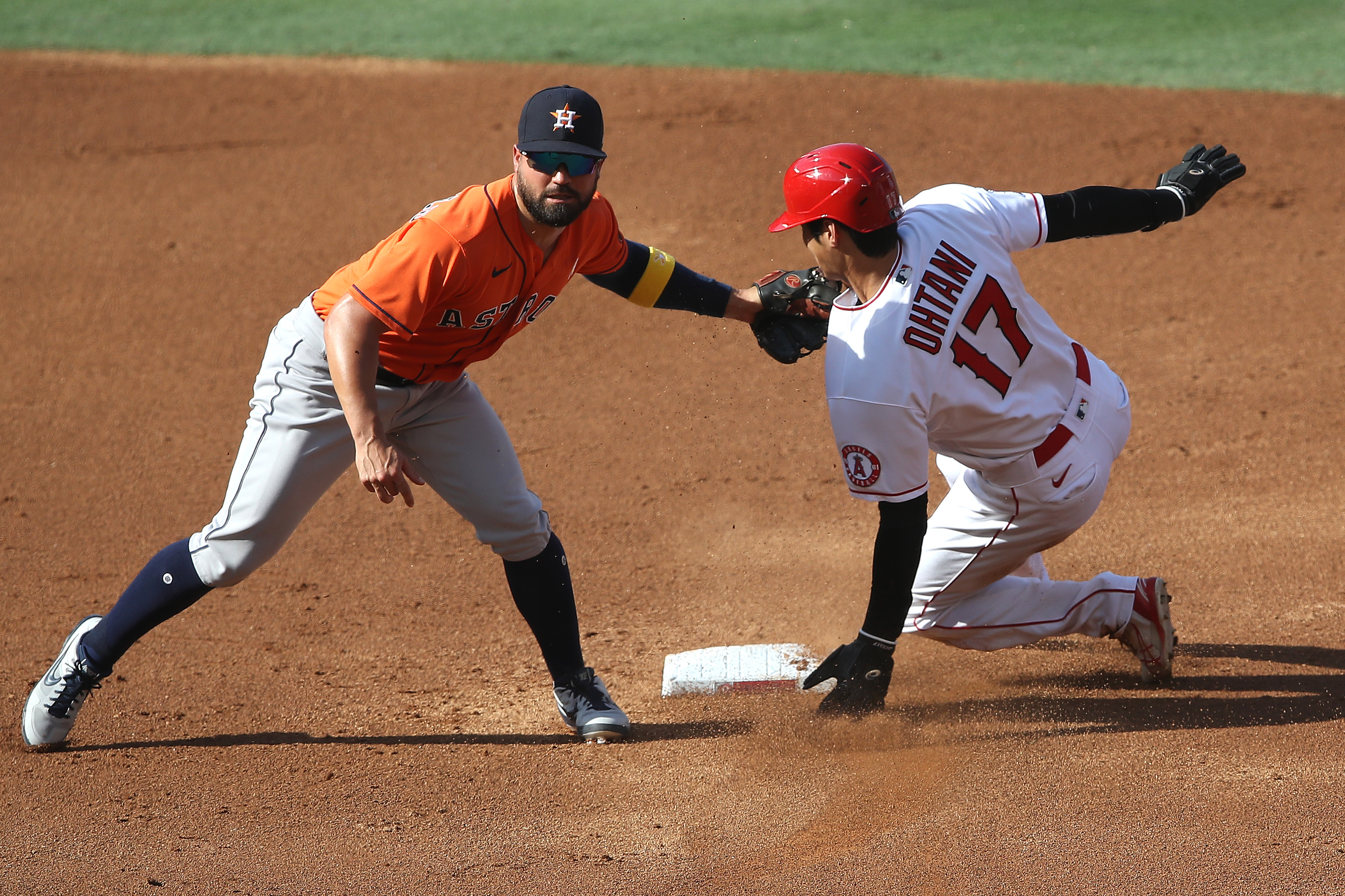 Houston Astros v Los Angeles Angels - Game One