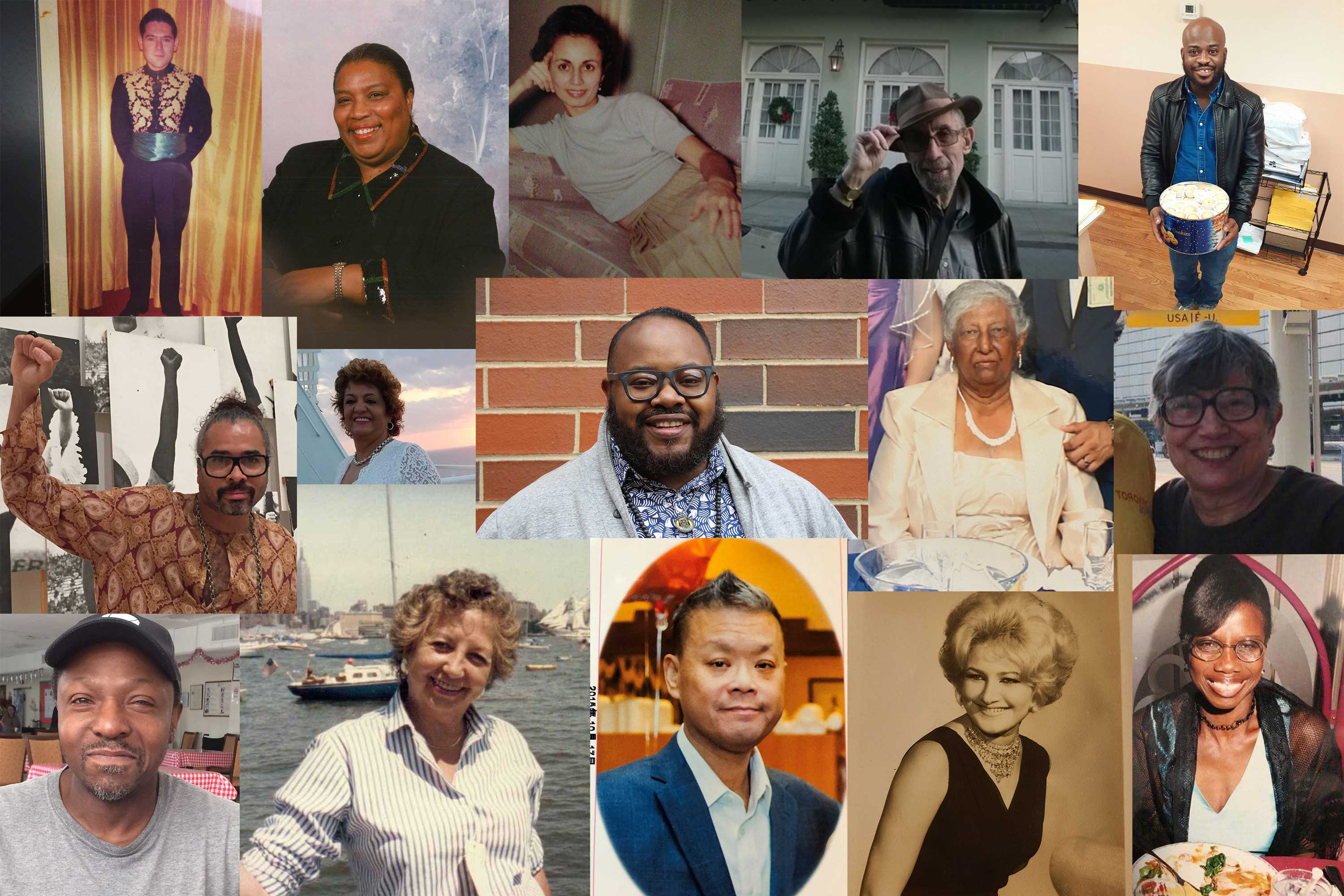 Some of the New Yorkers who have passed away from COVID-19.