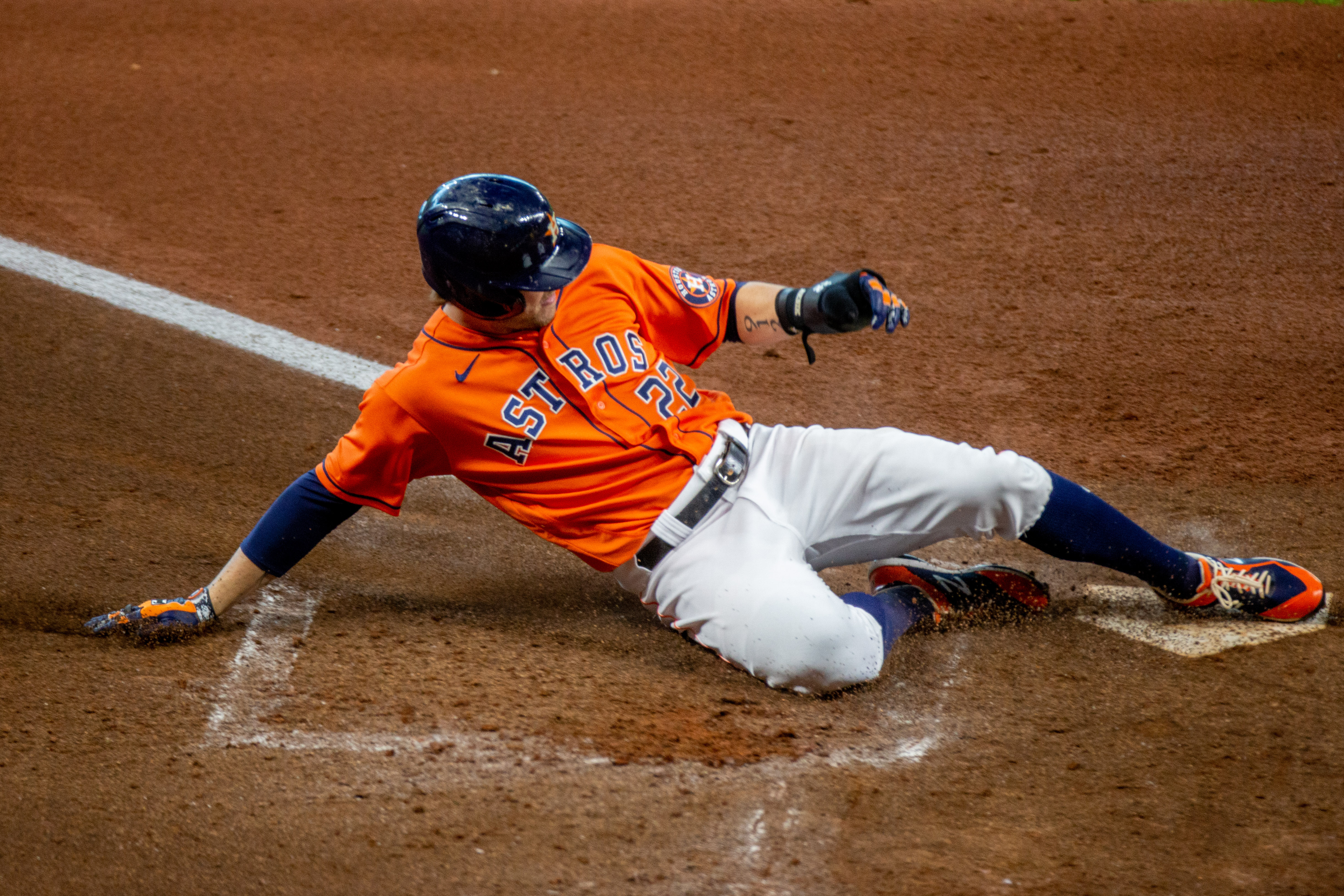 MLB: AUG 25 Angels at Astros - Game 1