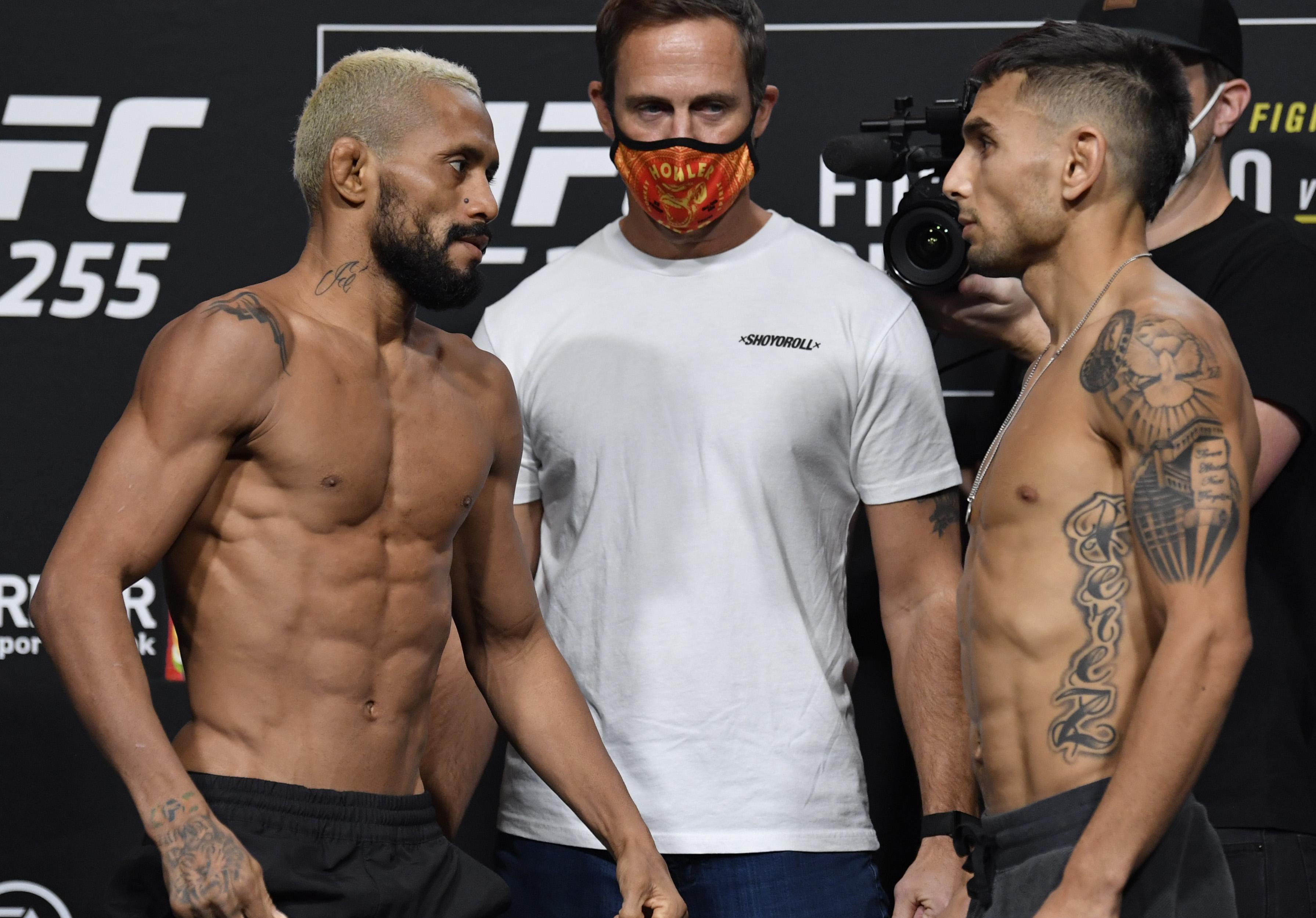 UFC 255 Figuereido v Perez: Weigh-Ins