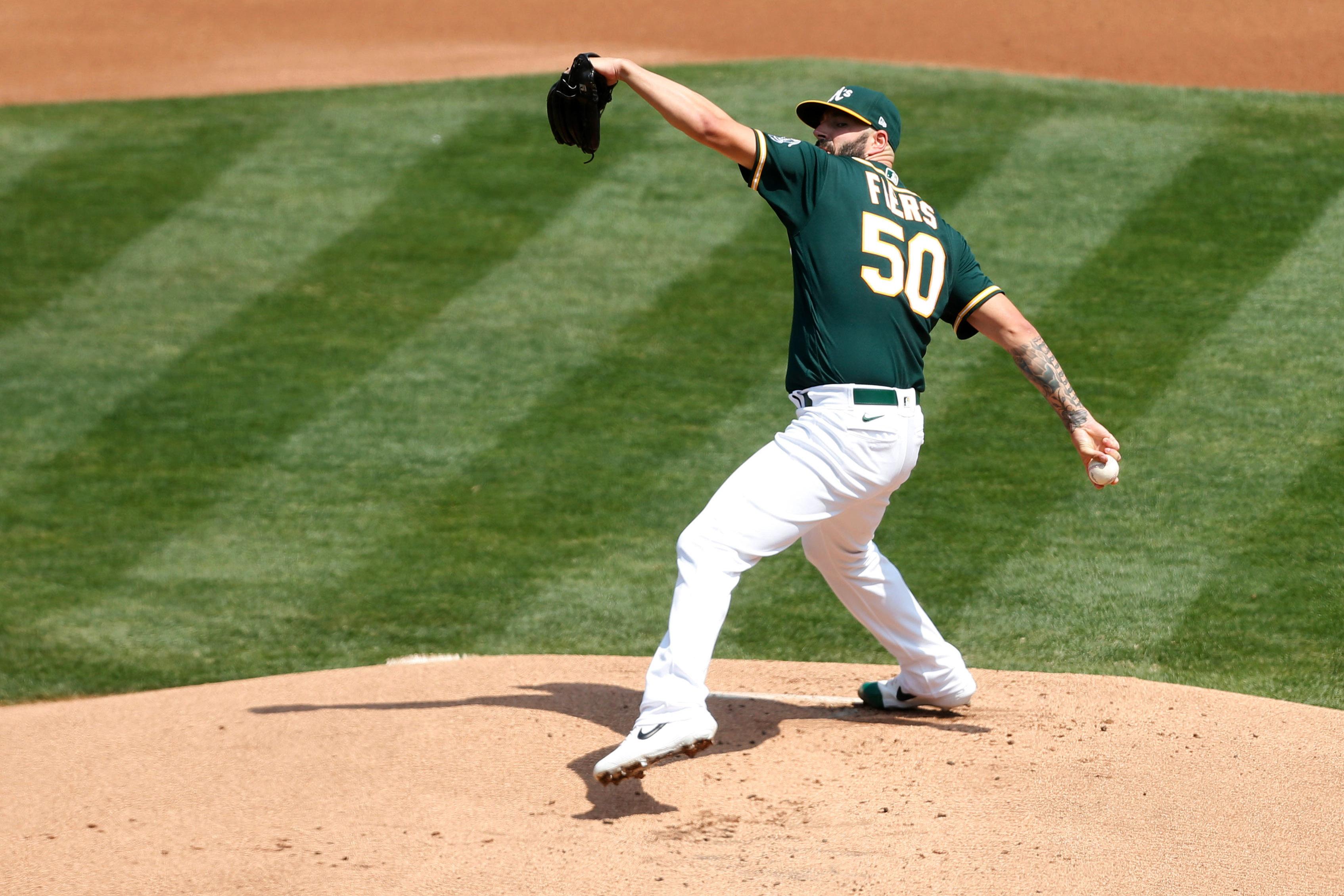 MLB: San Diego Padres at Oakland Athletics