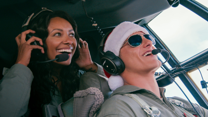 Netflix film Operation Christmas Drop and the U.S. military