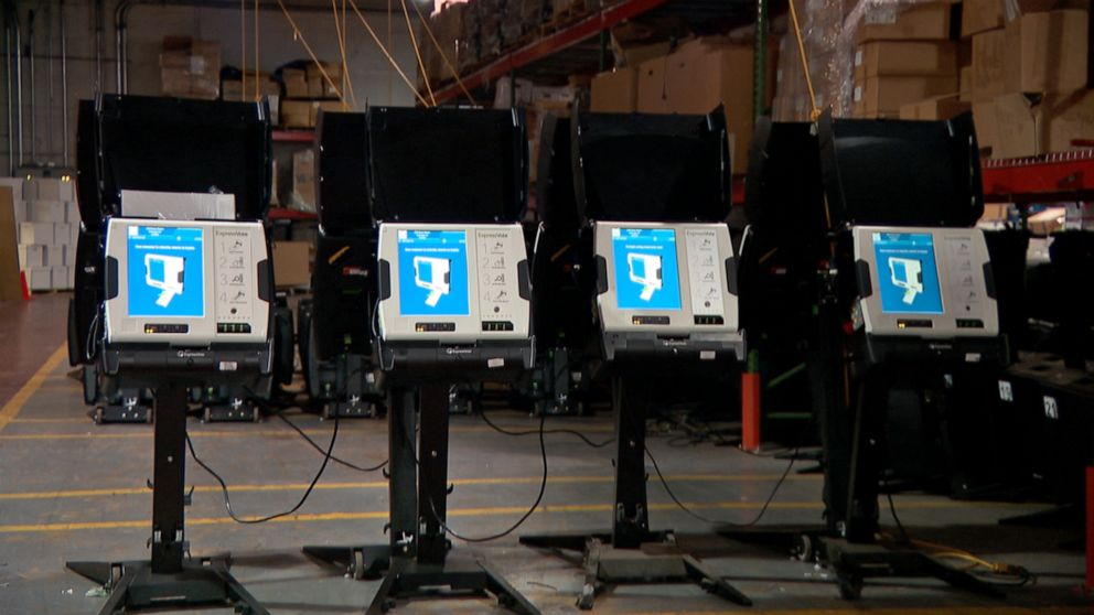 voting scanners