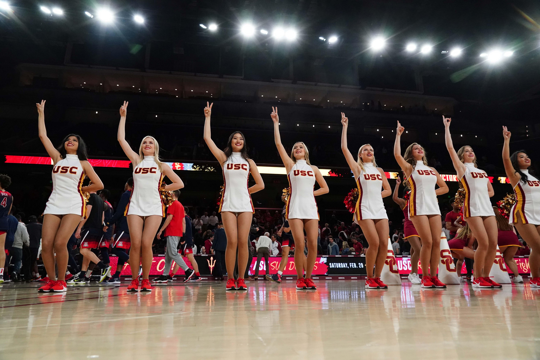 NCAA Basketball: Arizona at Southern California