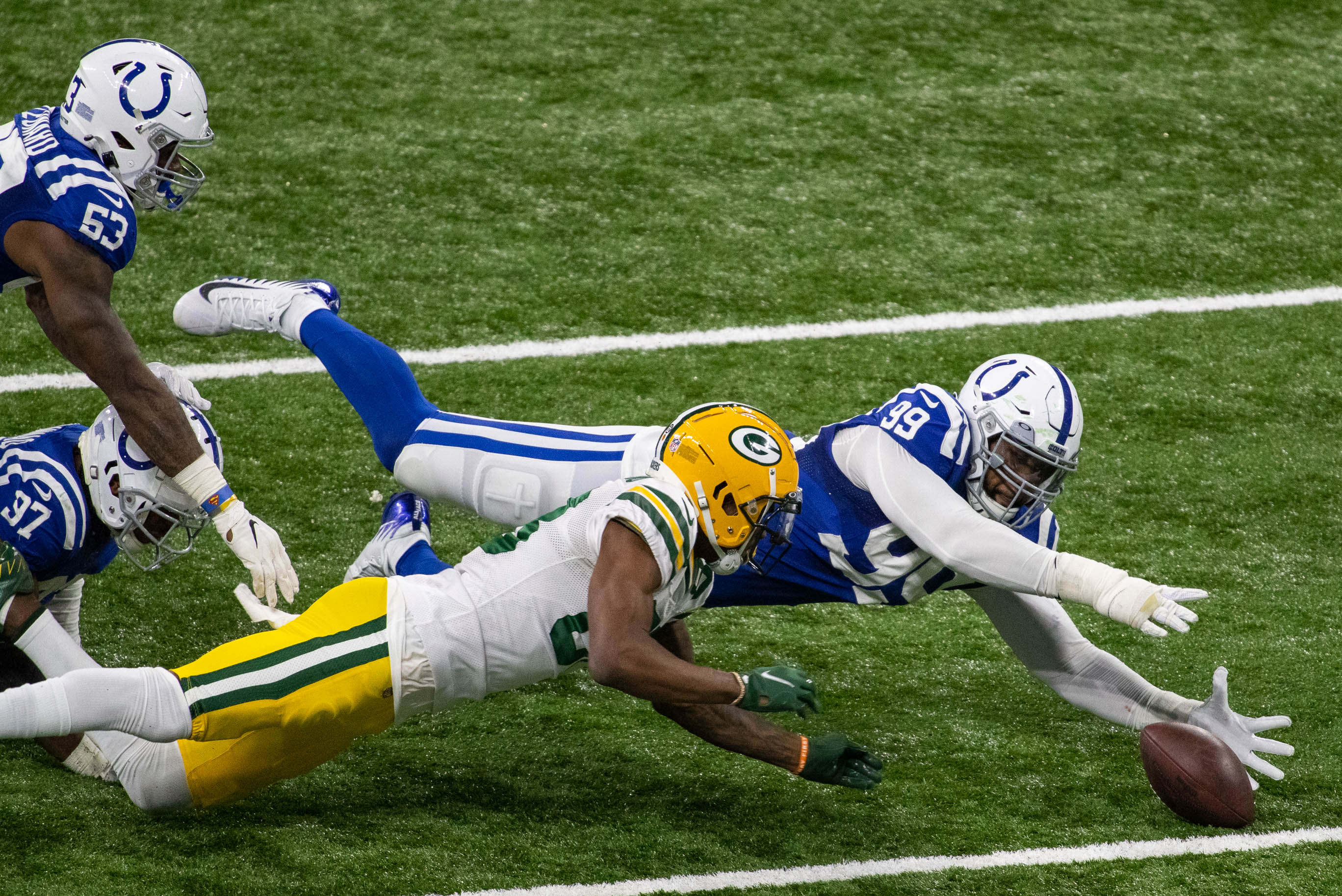 NFL: Green Bay Packers at Indianapolis Colts